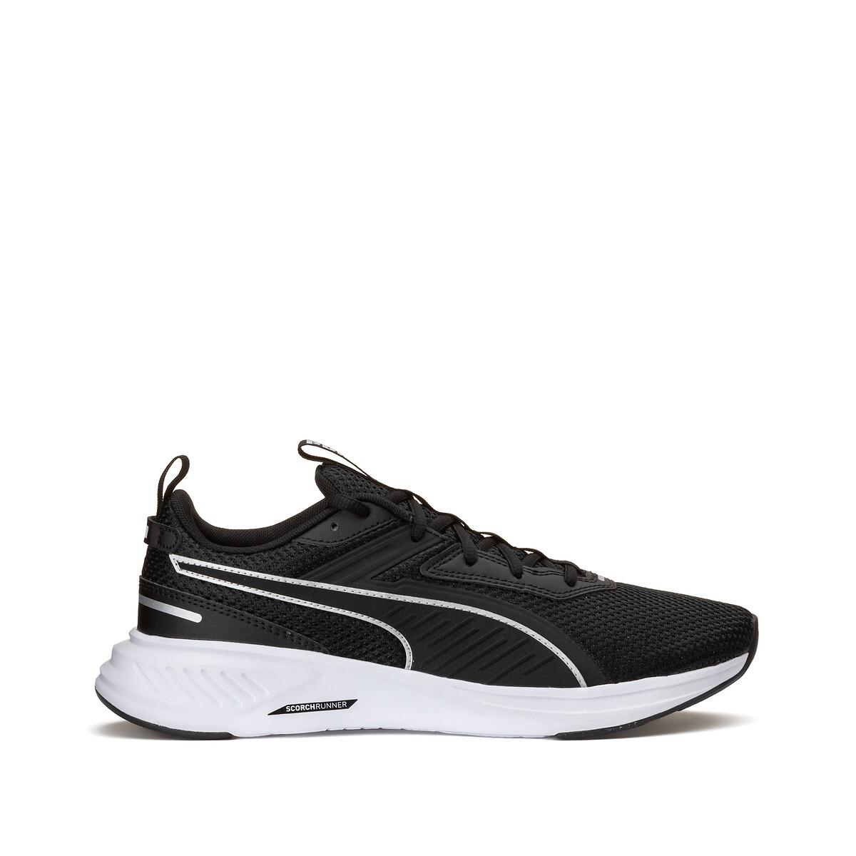 Puma scorch runner hardloopschoenen zwart/wit heren online kopen