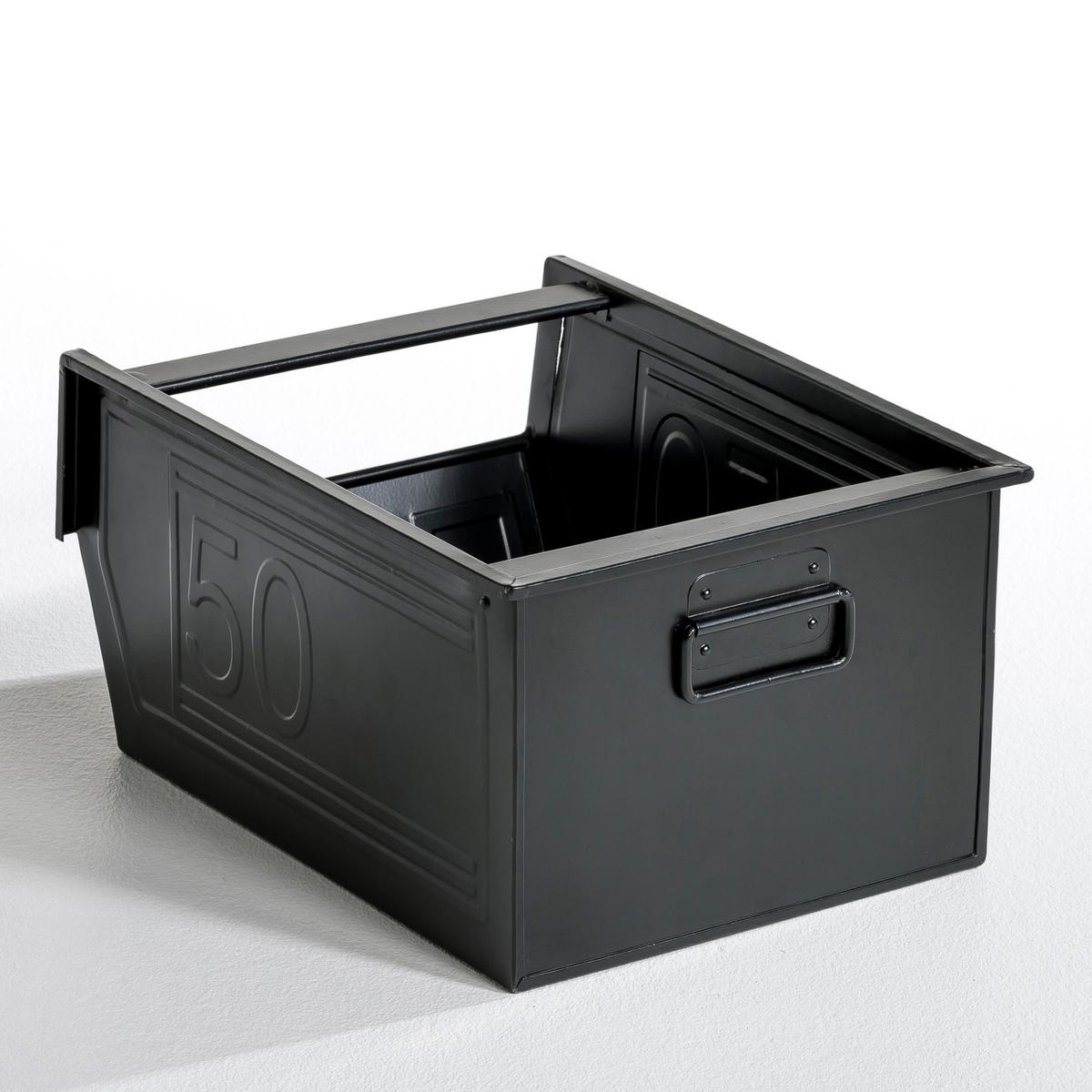 ЯщикМеталлический ящик Will с ручкой для удобной транспортировки. Отделка эпоксидной краской. Размер: длина 28 х ширина 37 х высота 20 см.<br><br>Цвет: белый,желтый,розовый телесный,серый,темно-синий,черный