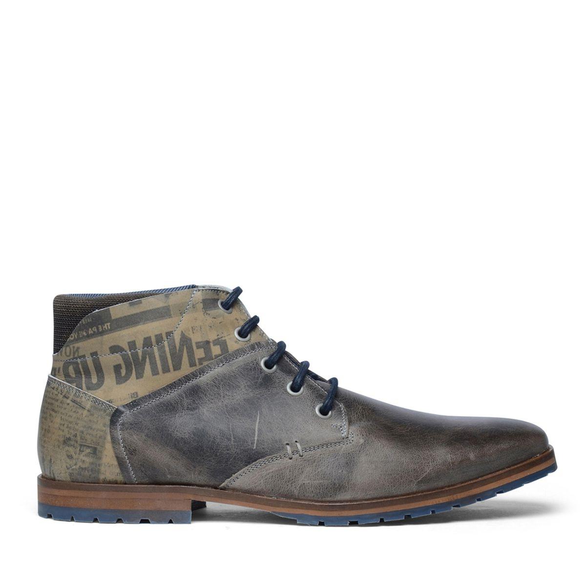 Chaussures à lacets montantes en cuir