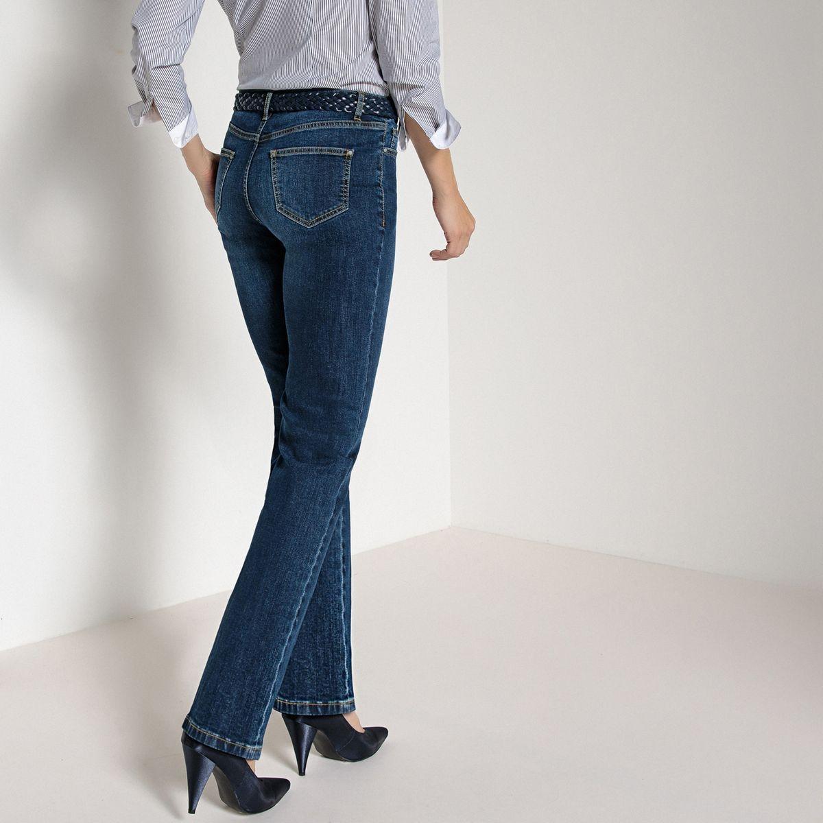 Jean bootcut, denim stretch