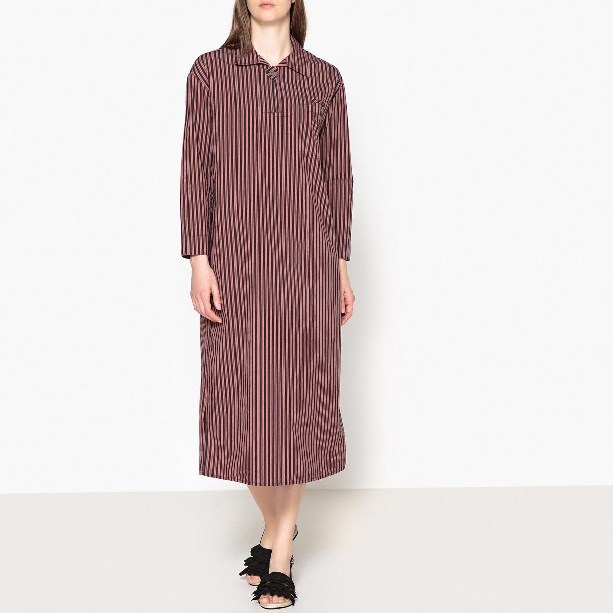 Платье длинное в полоску DJELABA