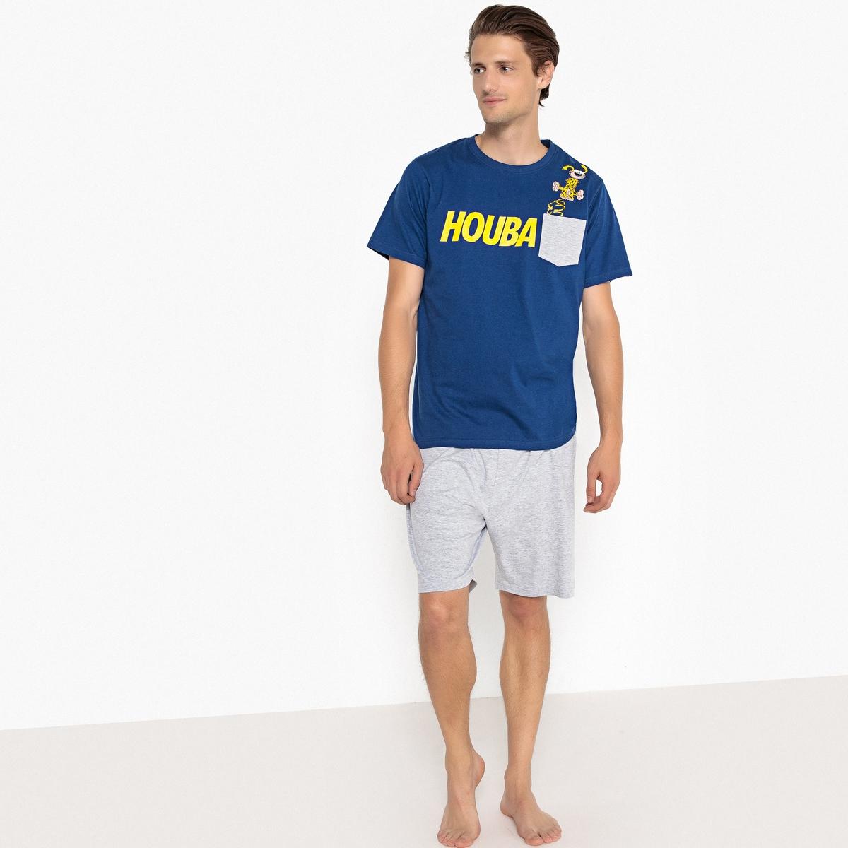 Пижама с шортами двухцветная MARSUPILAMI