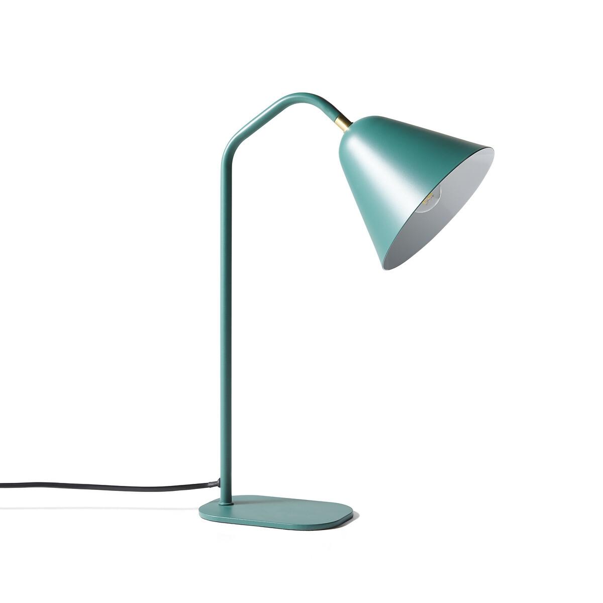 Лампа LaRedoute Настольная из металла Copita единый размер зеленый лампа настольная из дерева и металла tinus