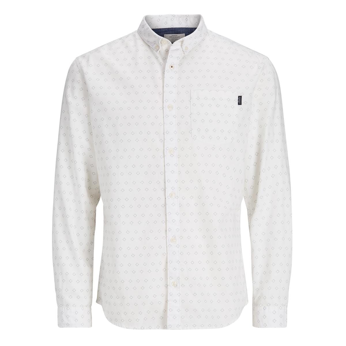 Рубашка с рисунком и длинными рукавами наволочка с рисунком jack