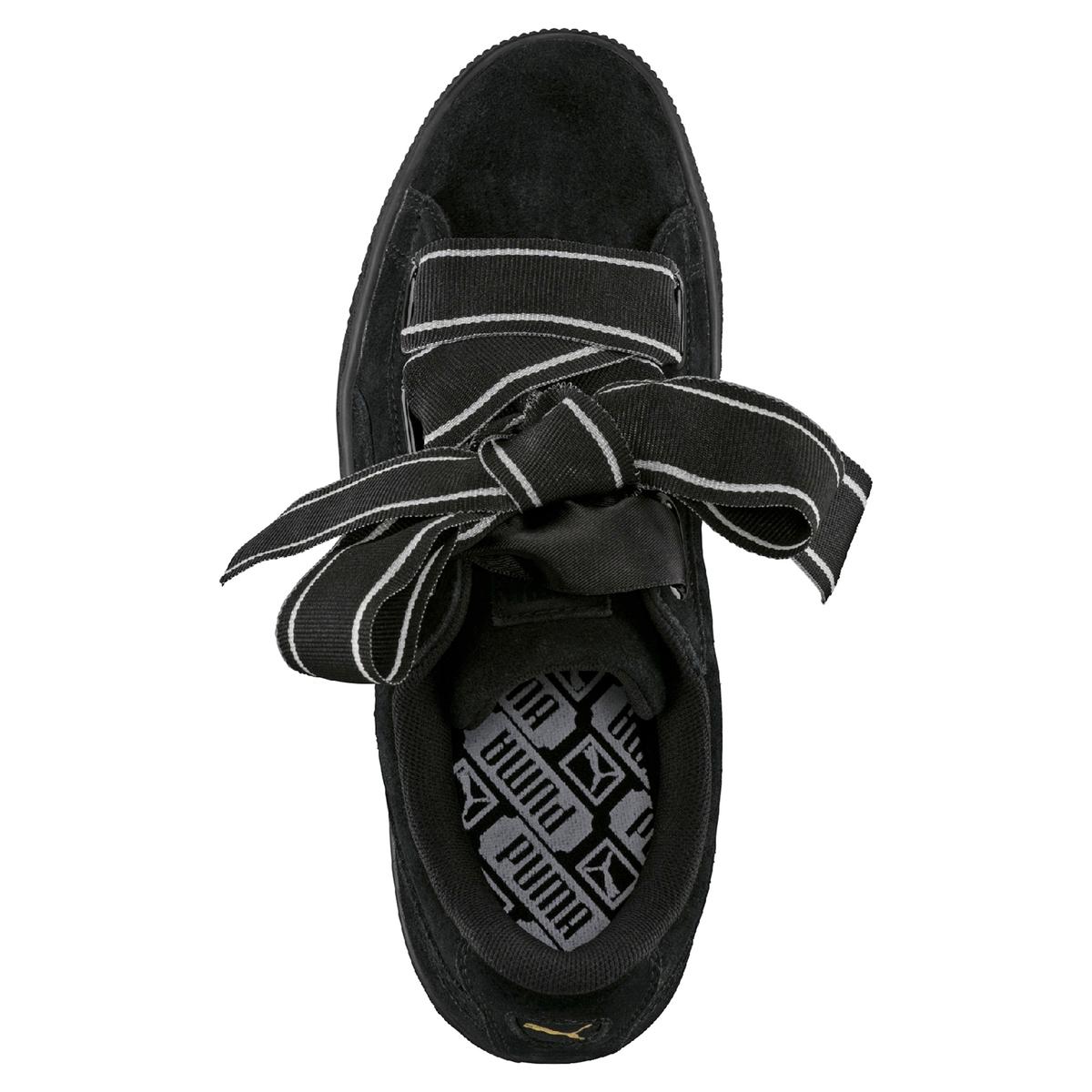 Imagen secundaria de producto de Zapatillas Wns Suede Heart Satin - Puma