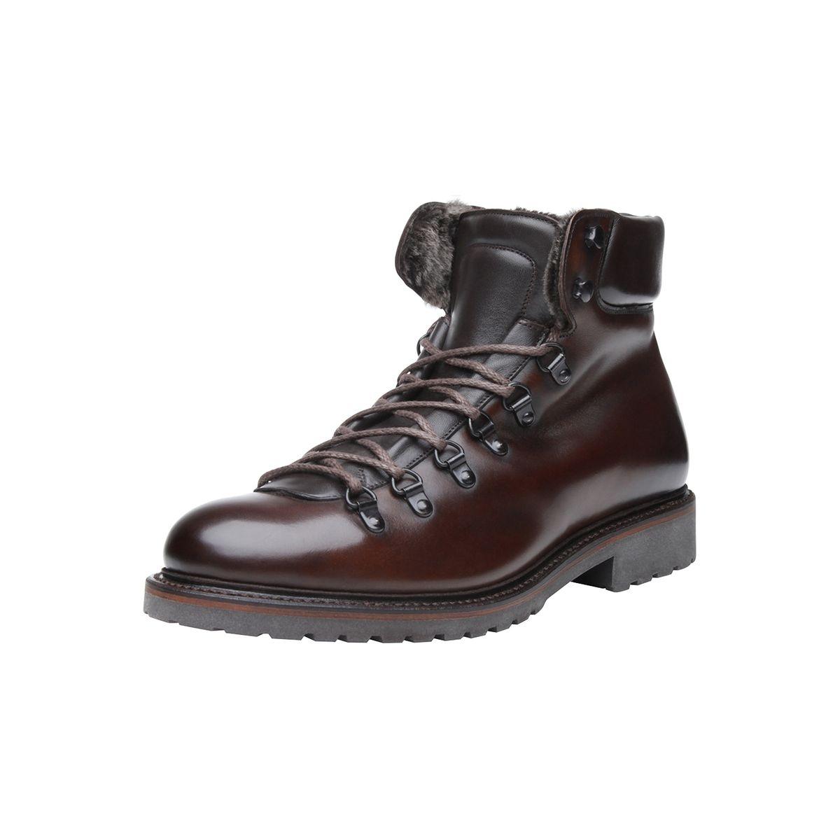 Boots en marron foncé