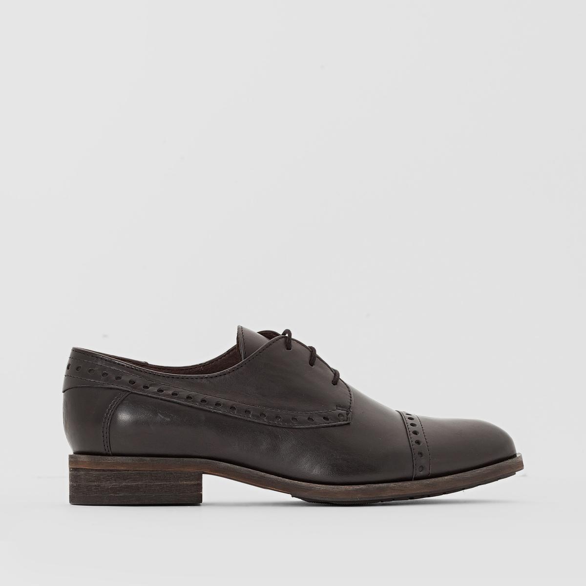 Ботинки-дерби кожаные Sally