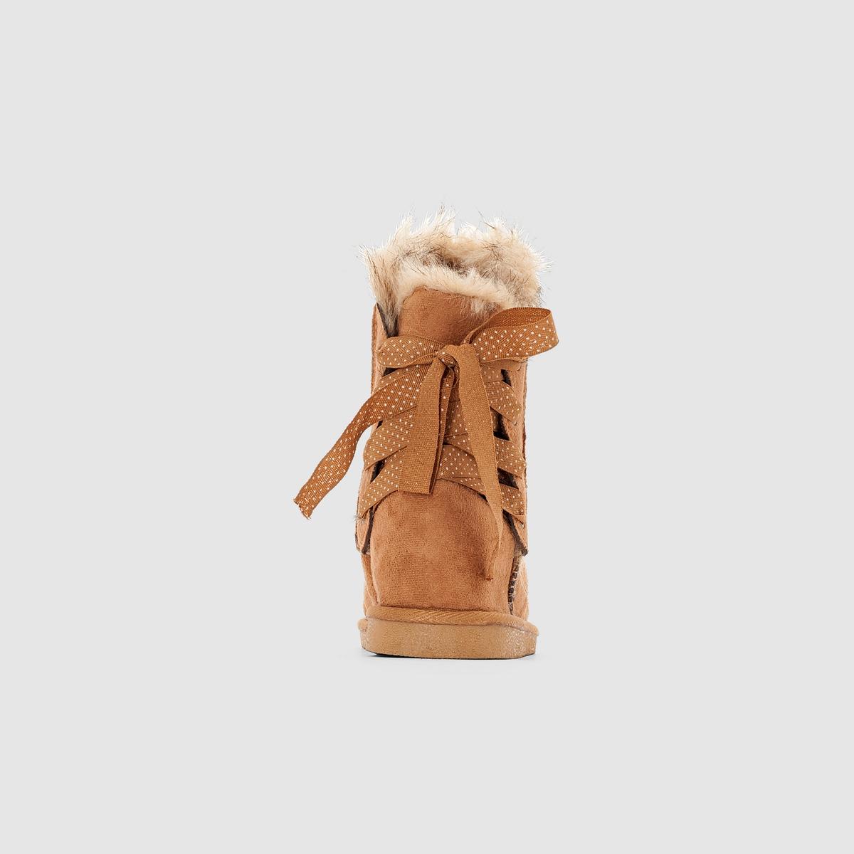 La-Redoute-Collections-Bambina-Stivali-Imbottiti