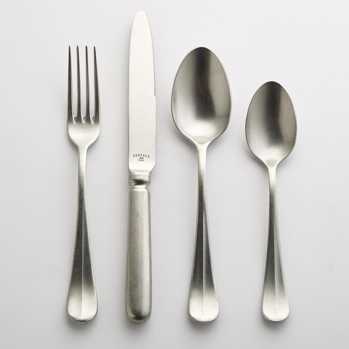 Комплект из 6 ножей из нержавеющей стали Surface от Serax