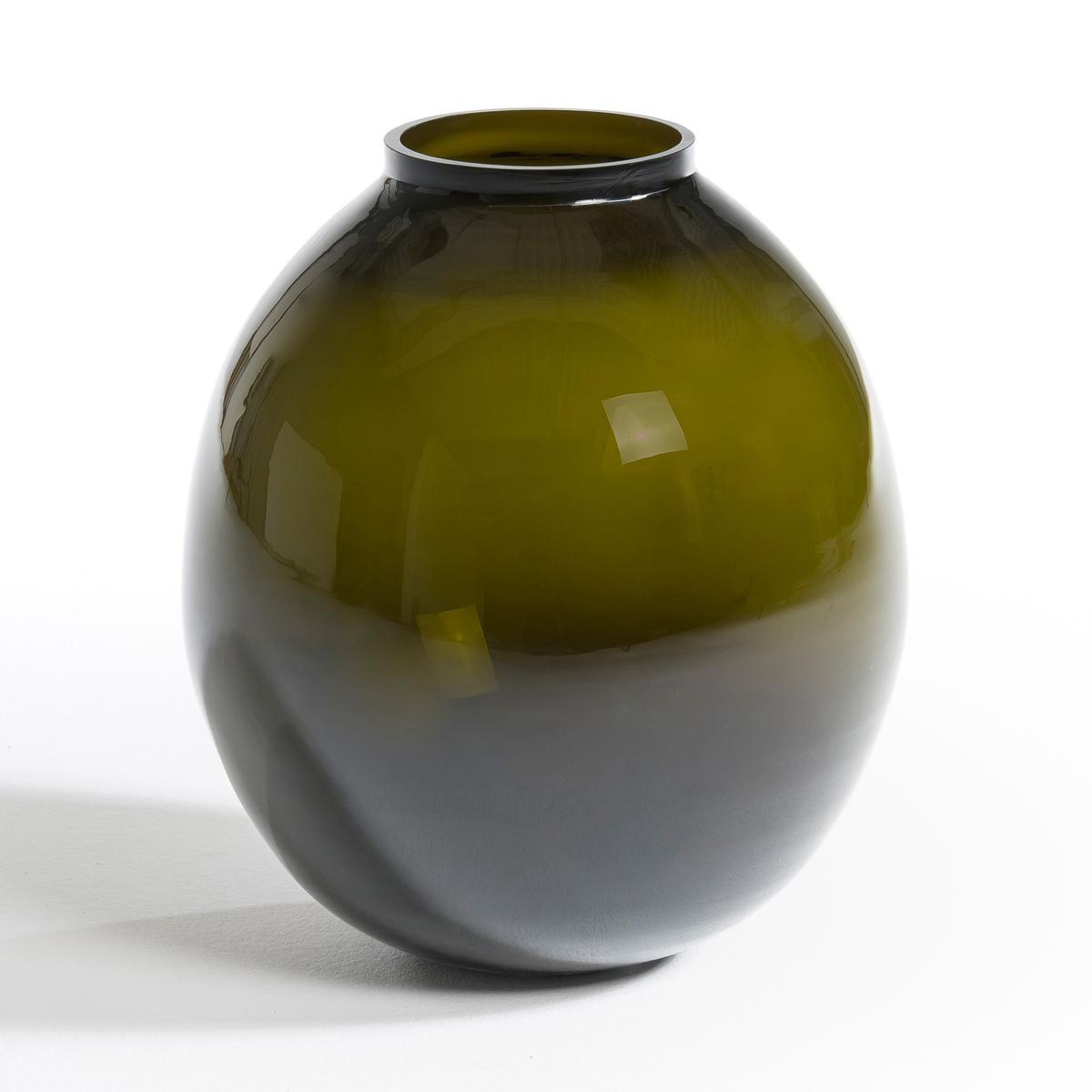 Ваза SamaВеликолепная ваза больших размеров. Характеристики: :- Из цветного стекла.Размеры :- Диаметр.34 x Высота.39,5 см.<br><br>Цвет: зеленый
