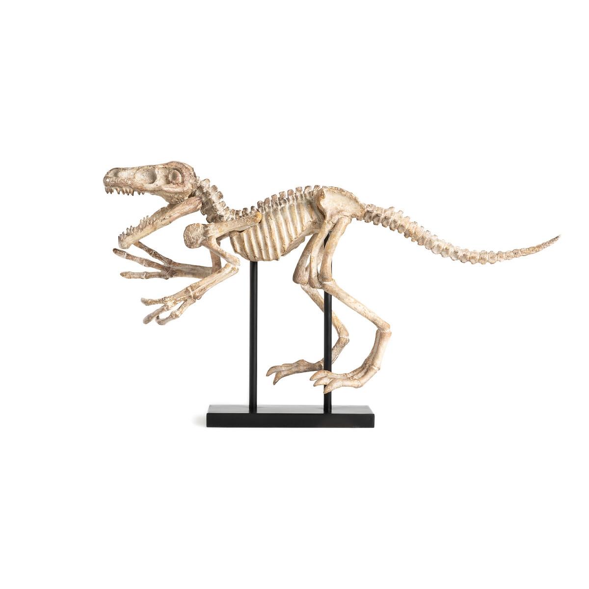 Статуэтка LaRedoute Динозавр из полимера Ш81 см Dona единый размер бежевый
