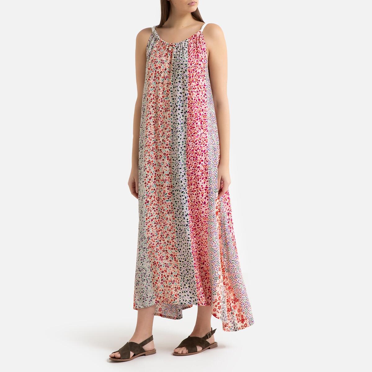 Платье La Redoute С принтом CINDY 1(S) розовый