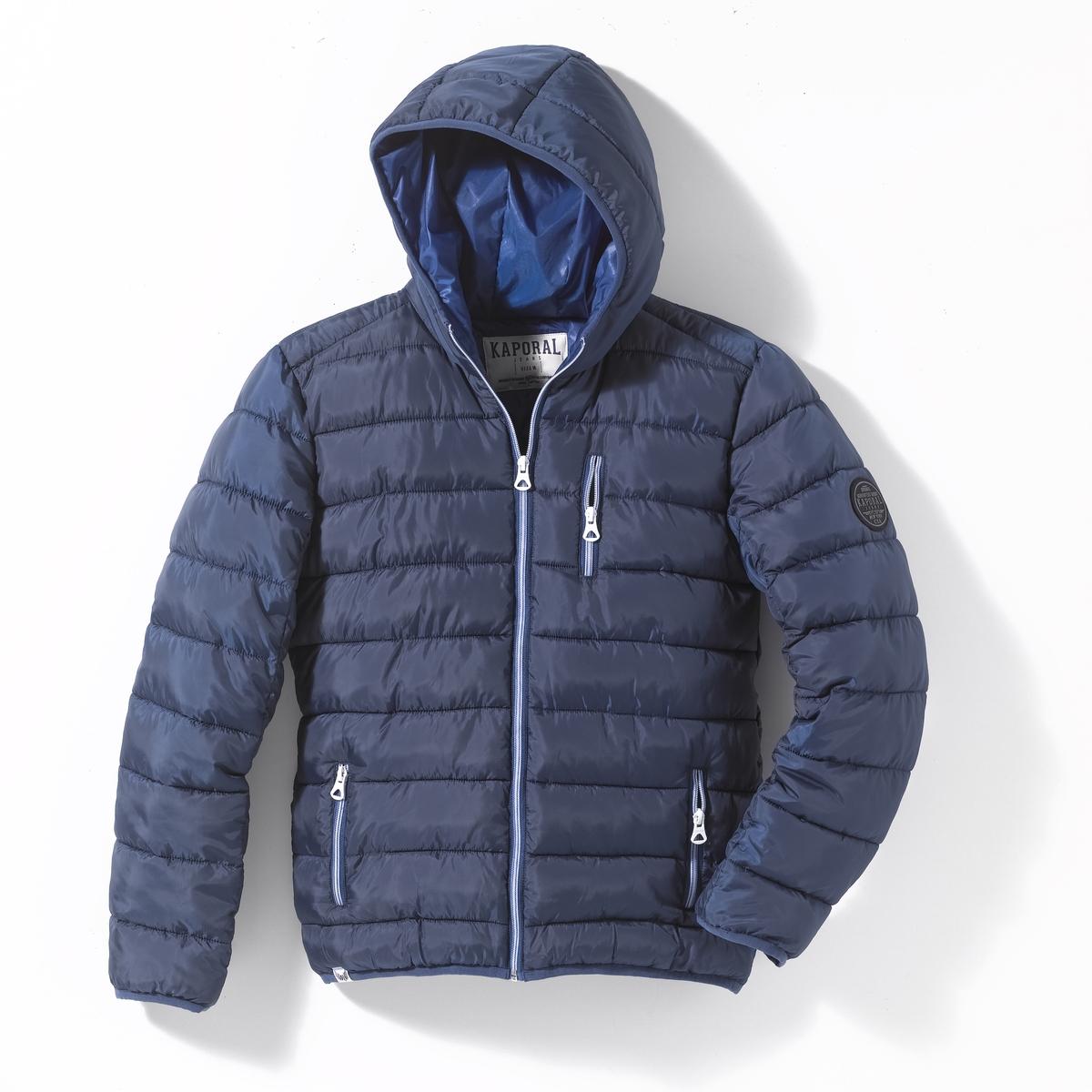 Куртка стеганая с капюшоном, 10 - 16 лет