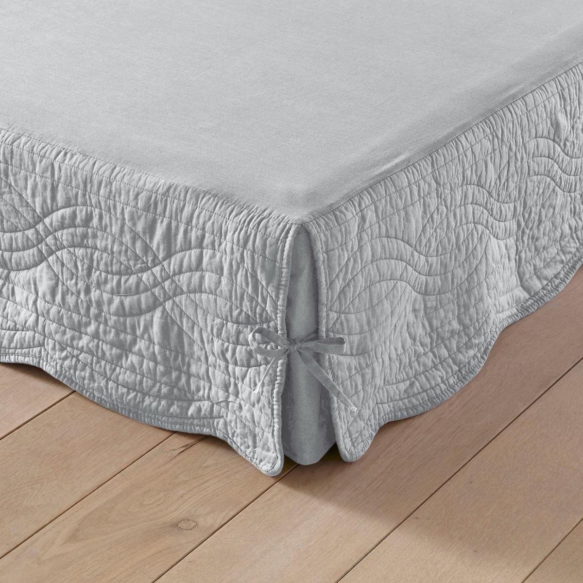 Чехол на кроватное основание из хлопковой ткани от La Redoute