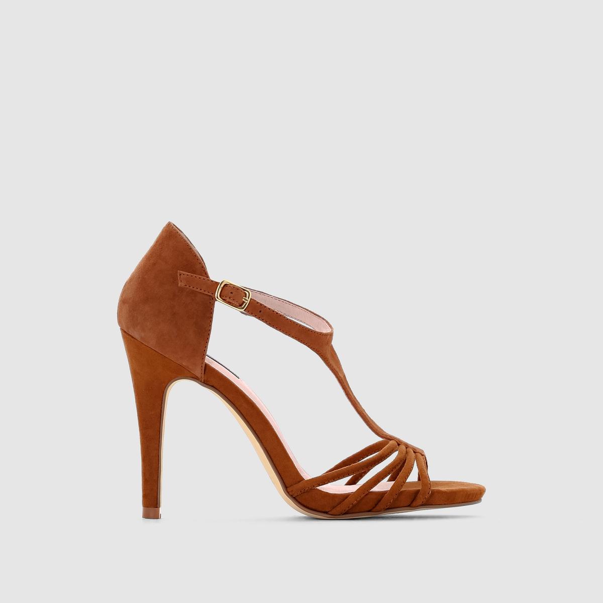 Босоножки на каблуке от La Redoute Collections