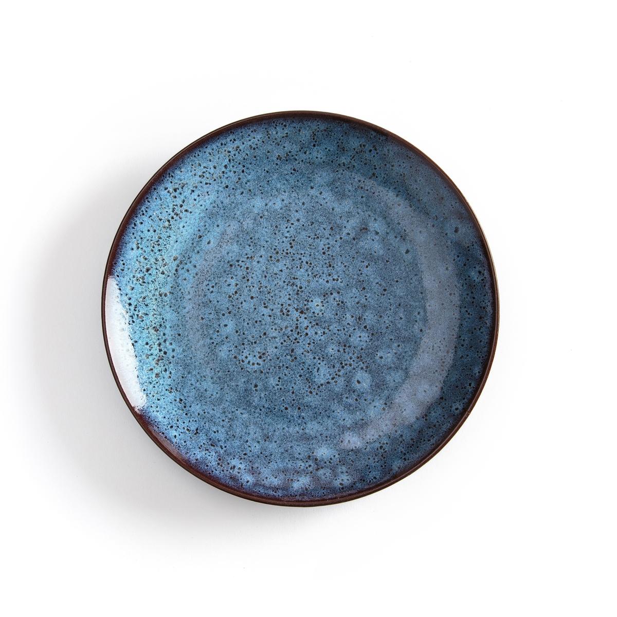 Комплект из 4 мелких тарелок Pesgira комплект из 4 мелких тарелок из керамики olazhi