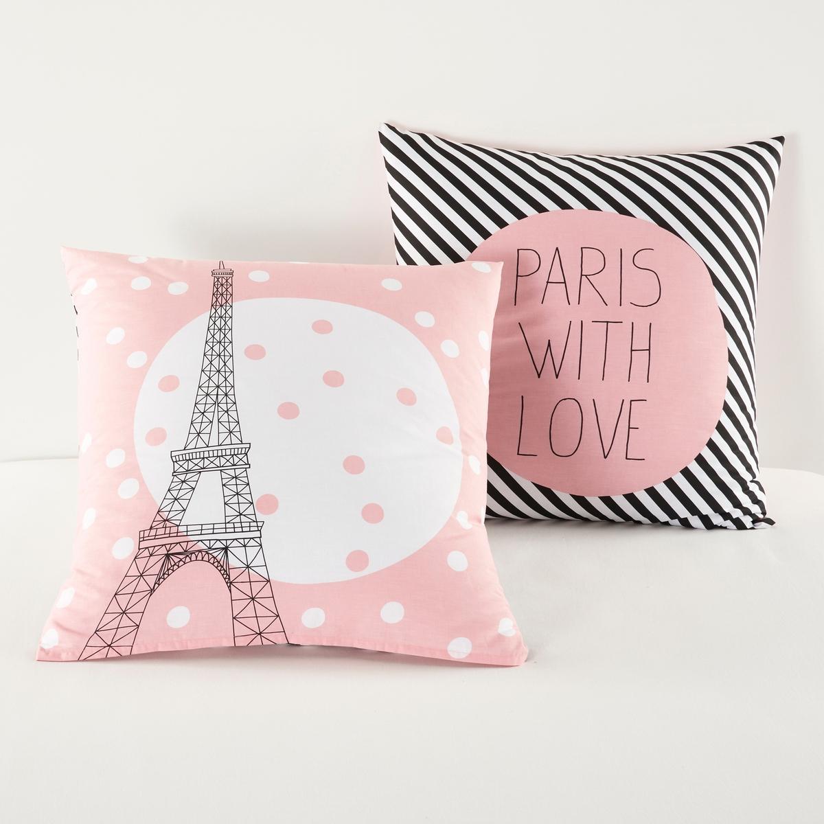 Наволочка Paris For Ever