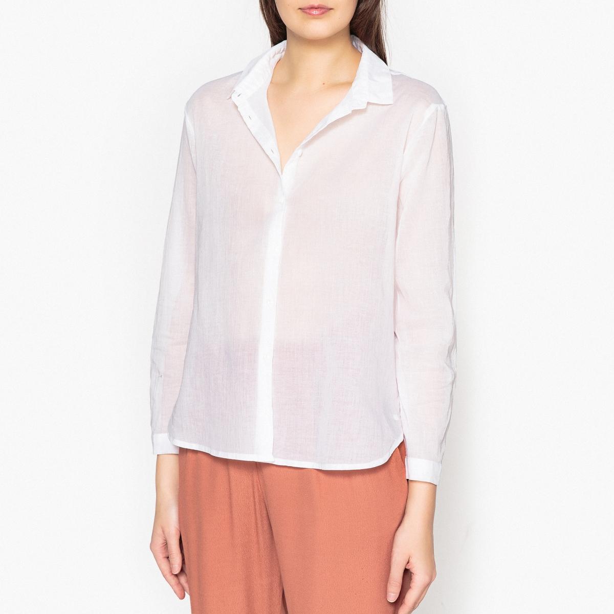 Рубашка из хлопковой вуали LEANIE рубашка harris wilson harris wilson ha019emqpi74