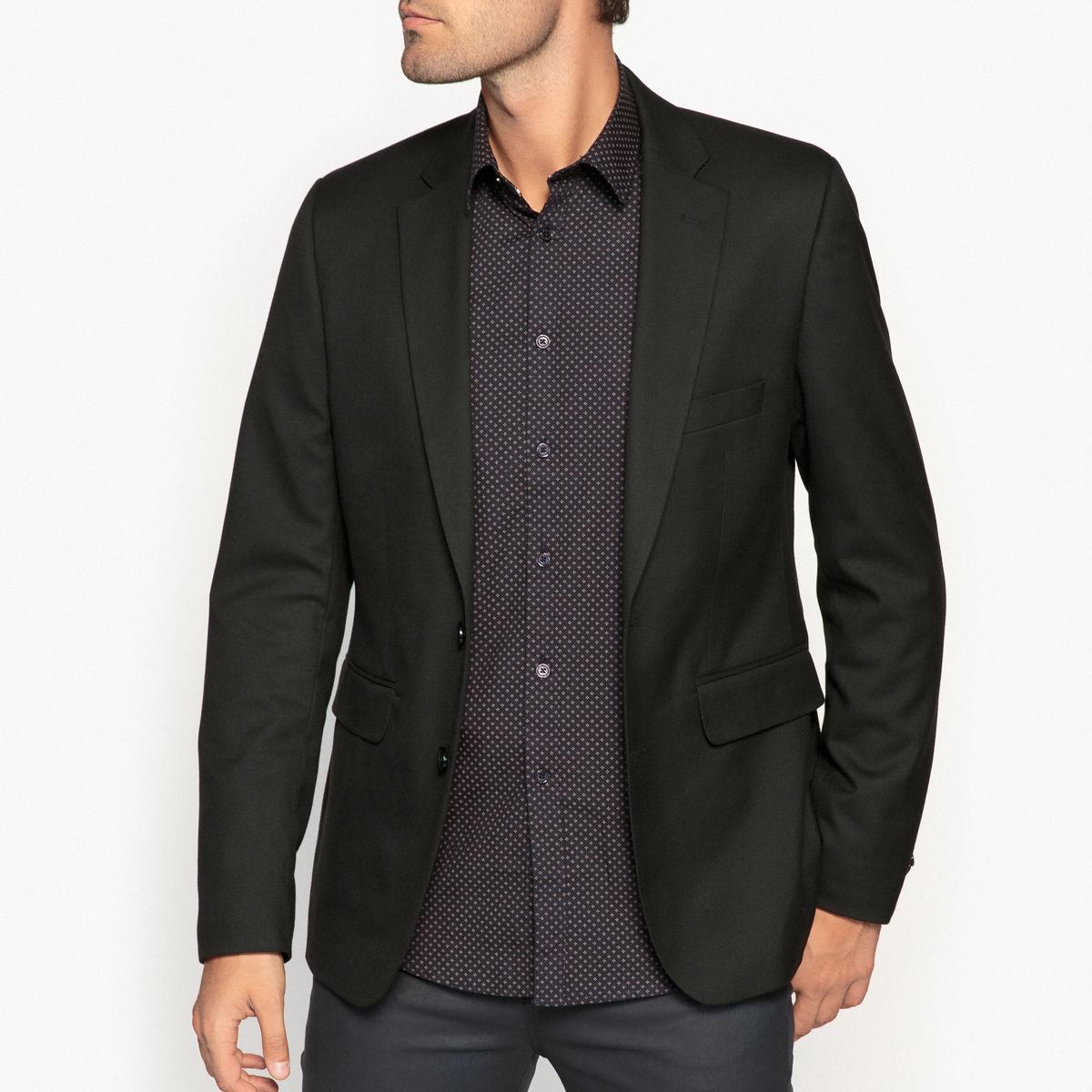 Пиджак костюмный покроя слим zogaa кожа рукав соединения случайные слим мужской пиджак
