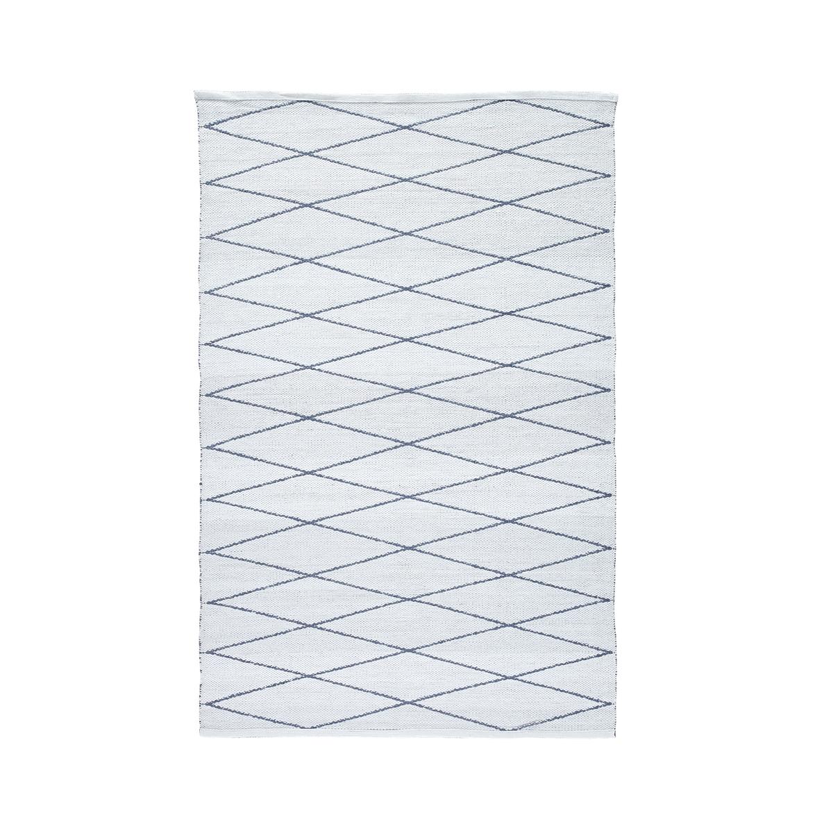 цена Ковер La Redoute Misako для дома или открытого воздуха с принтом 120 x 180 см белый онлайн в 2017 году