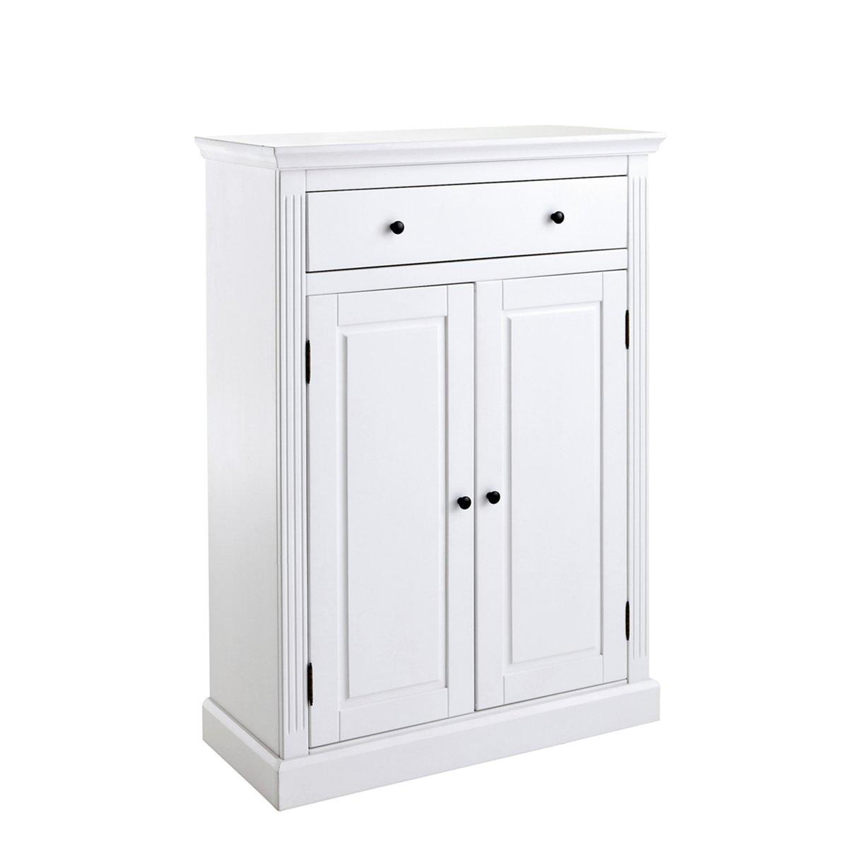 Шкаф-буфет LaRedoute Из массива сосны Authentic Style единый размер белый
