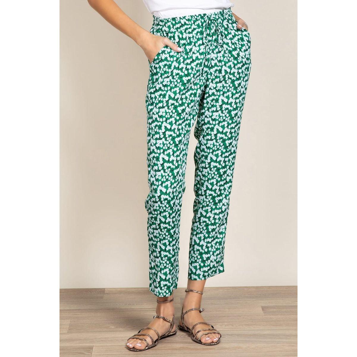 Pantalon à fleurs RIVA
