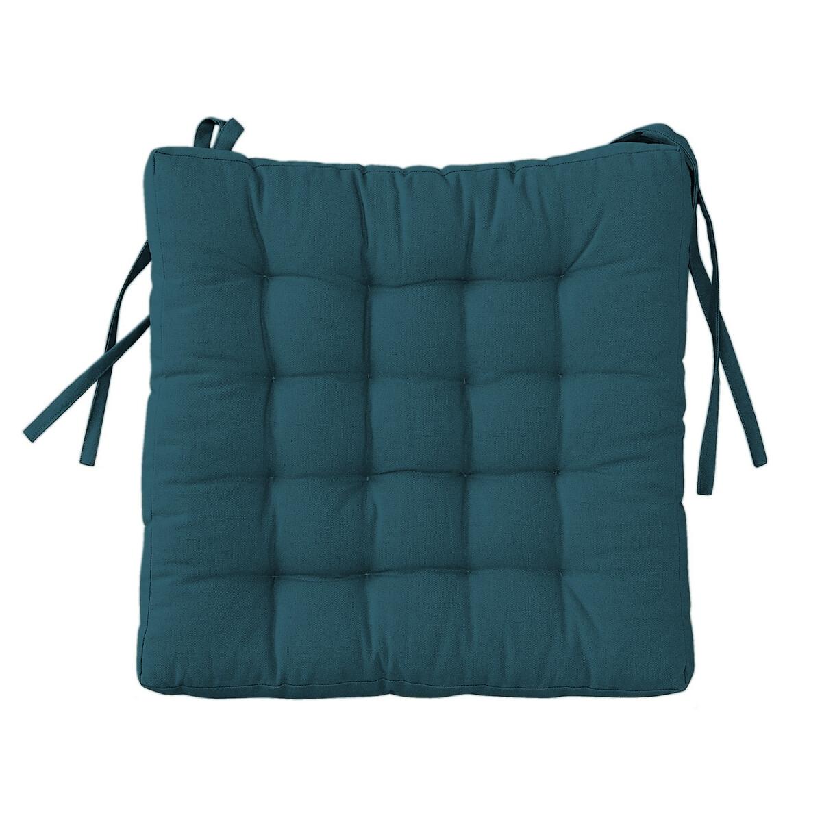 Подушка LaRedoute Для стула SCENARIO единый размер синий
