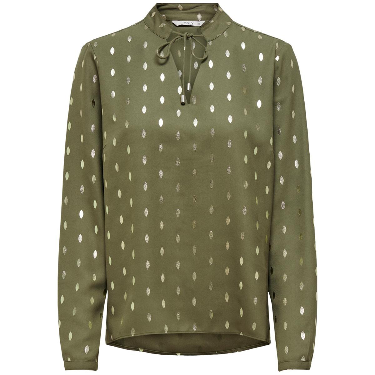 Блузка La Redoute С круглым вырезом с разрезом спереди и завязками S зеленый свитшот la redoute с круглым вырезом и вышивкой s черный