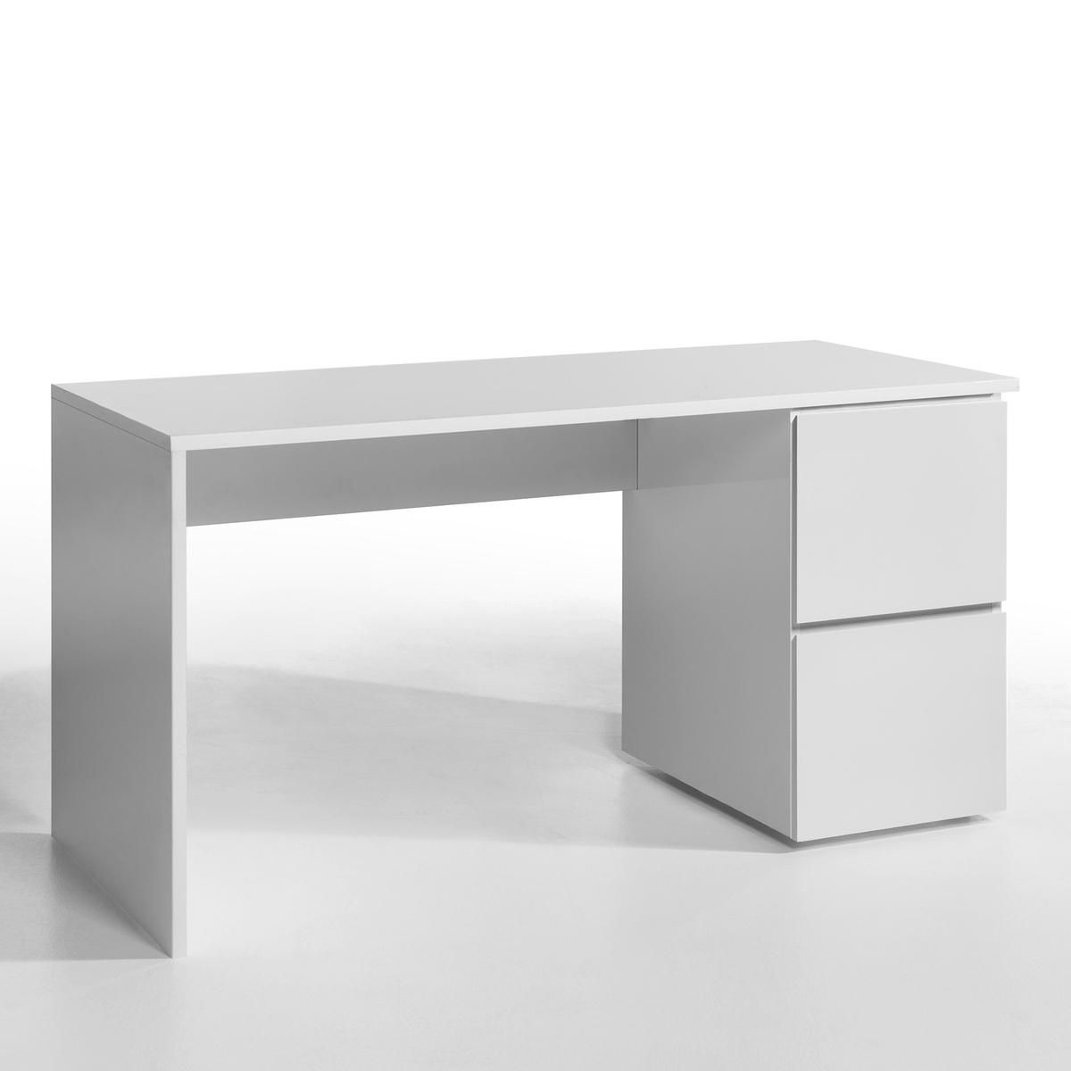 Стойка для письменного стола WorkingСтойка для письменного стола Working. Сочетается со столешницами и ящиками Working, которые продаются на нашем сайте. Создайте свое оригинальное рабочее место.Характеристики : - Лакированный МДФ, отделка полиуретановым лаком.- Крепится к столешнице (винты в комплекте).- Данная модель легко собирается, инструкция по сборке прилагаетсяРазмер : - Д 107,9 x В 73,8 x Г 65 см.  Размеры и вес упаковки : - Д 116,5 x В 6 x Г 70 см, 16,10 кг:!! .<br><br>Цвет: белый