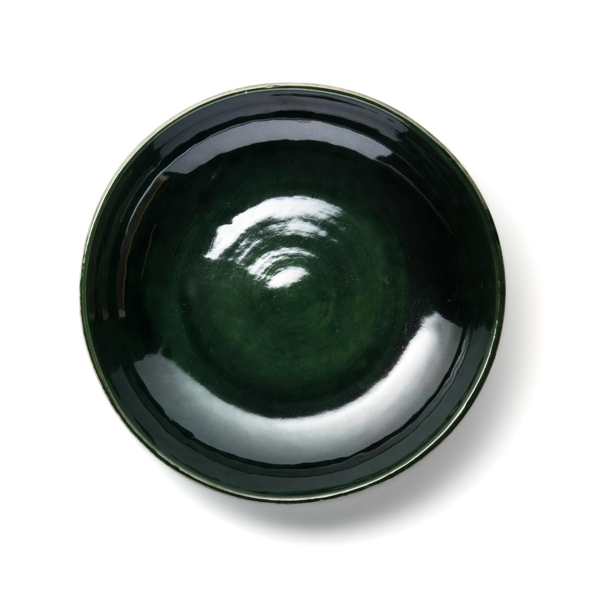Миска La Redoute Из керамики D см единый размер зеленый чашки la redoute из керамики shima единый размер зеленый