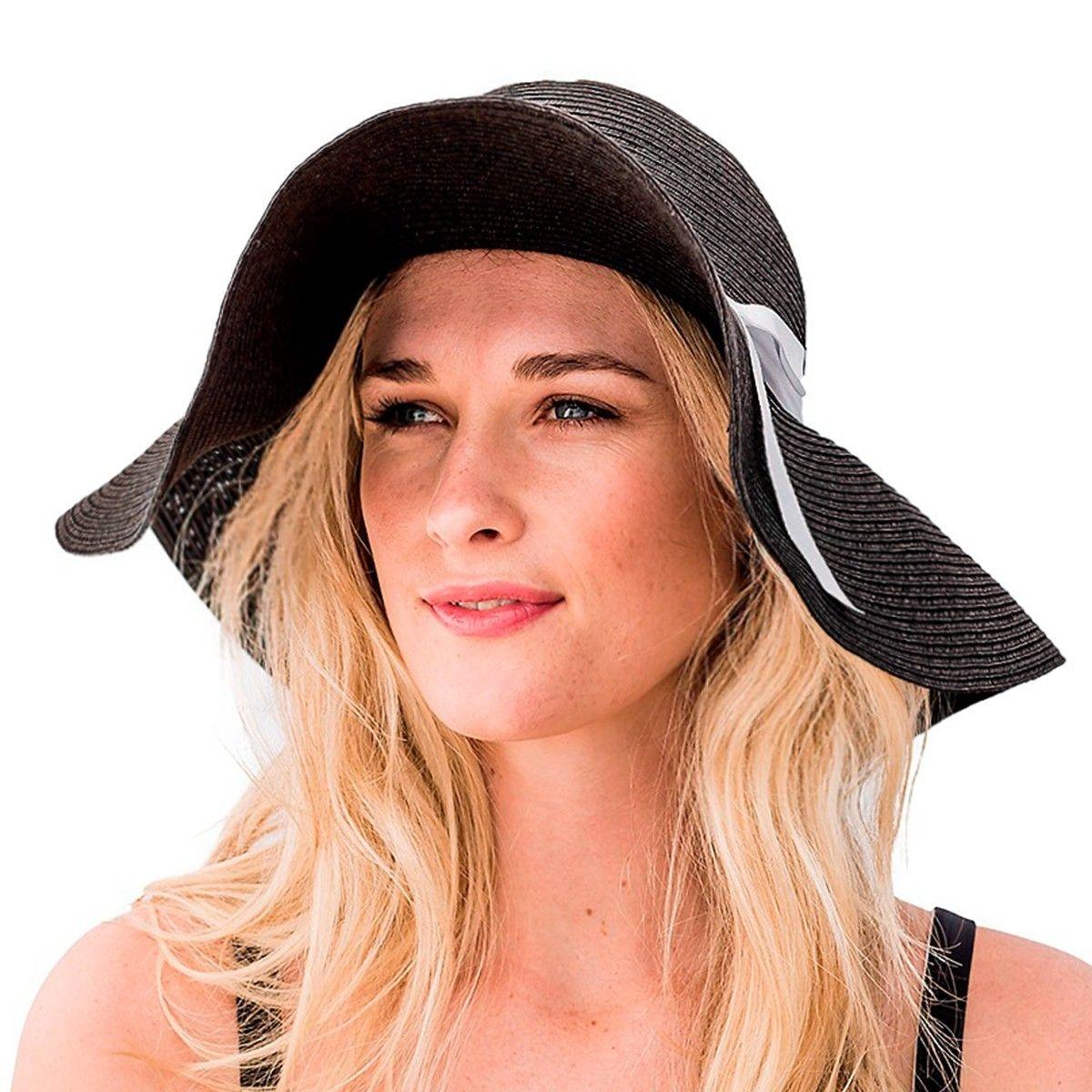 Chapeau capeline femme