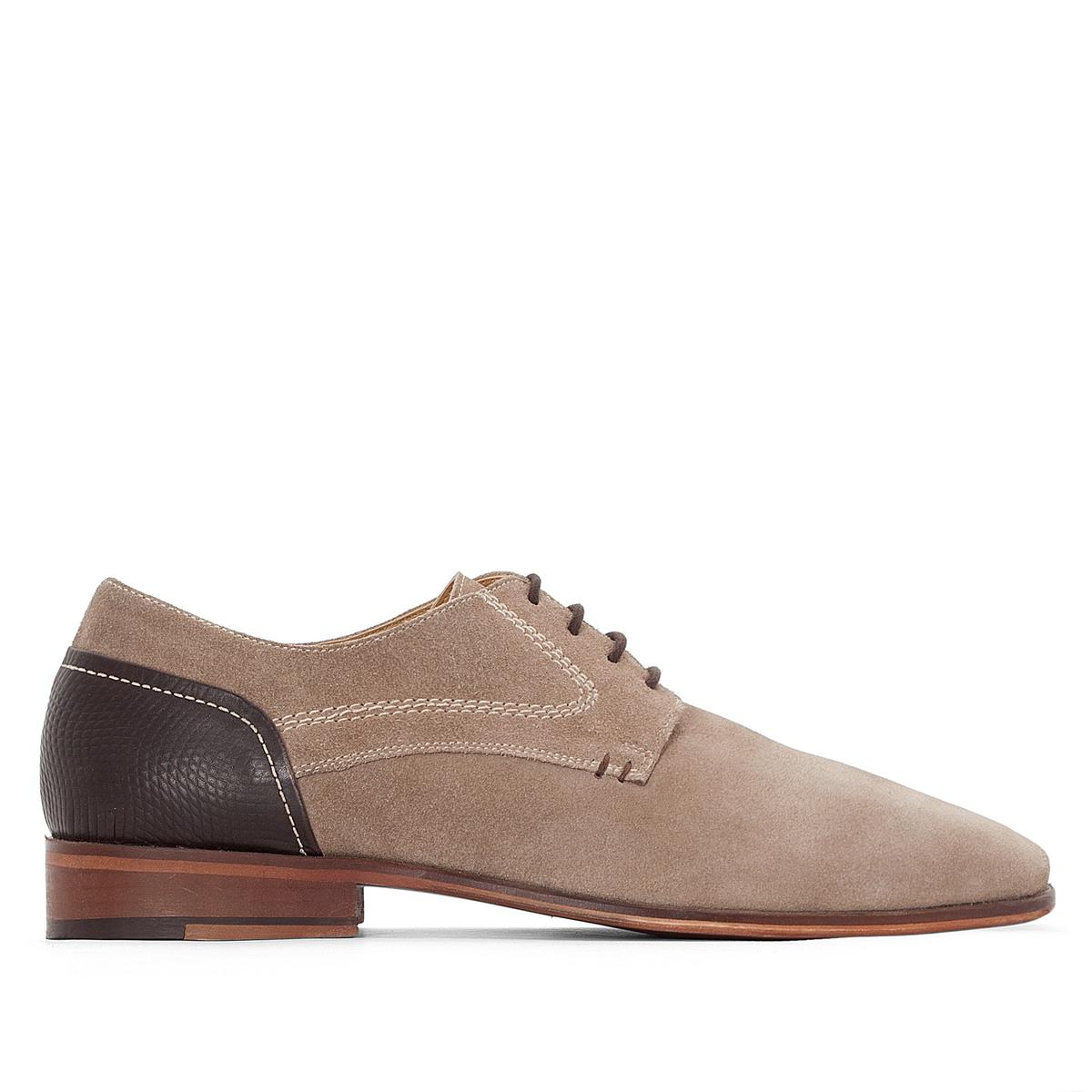 Ботинки-дерби кожаные на шнуровке ботинки la grandezza la grandezza la051awuzp39