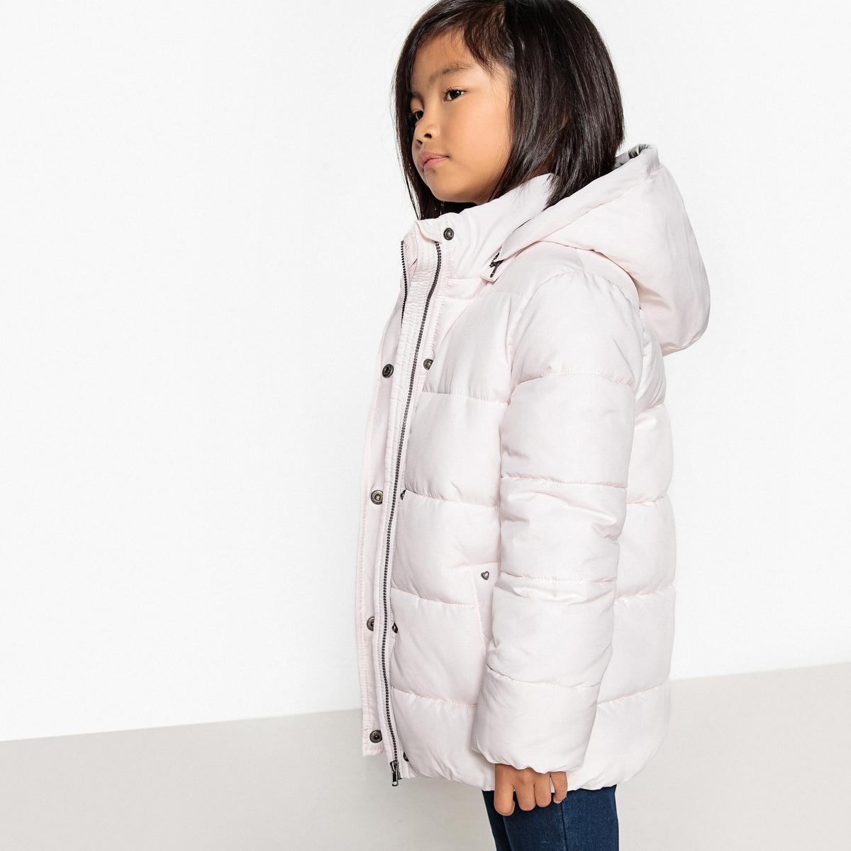 Куртка стеганая с капюшоном 3-12 летДетали •  Зимняя модель •  Непромокаемая •  Застежка на молнию •  С капюшоном •  Длина  : средняяСостав и уход •  100% полиэстер •  Температура стирки 30° •  Не гладить / не отбеливать   •  Не использовать барабанную сушку • Сухая чистка запрещена<br><br>Цвет: светло-розовый,синий морской<br>Размер: 4 года - 102 см.12 лет -150 см.10 лет - 138 см.8 лет - 126 см.6 лет - 114 см.5 лет - 108 см.3 года - 94 см.6 лет - 114 см.10 лет - 138 см.8 лет - 126 см