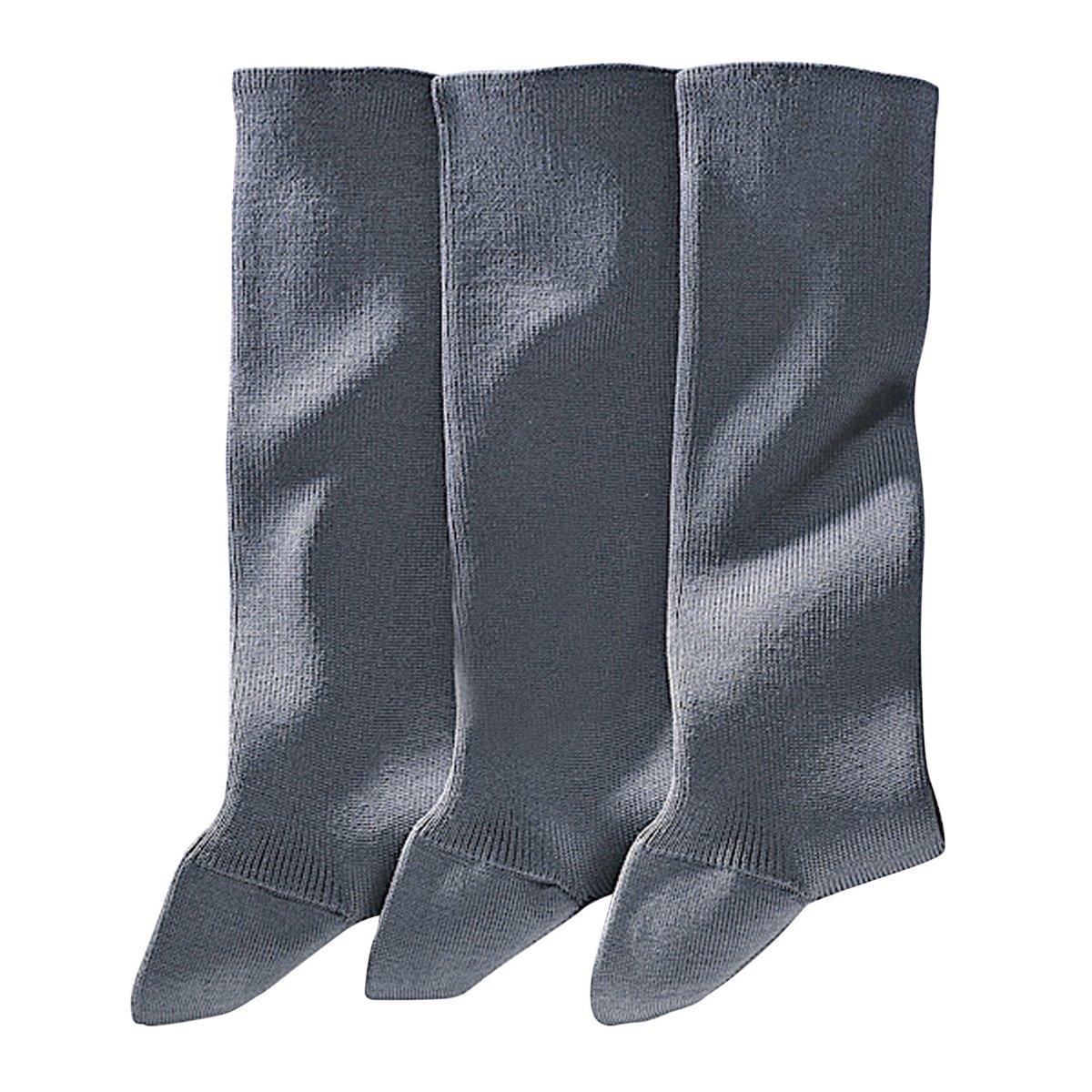 3 пары носков, 85% фильдекоса от La Redoute Collections