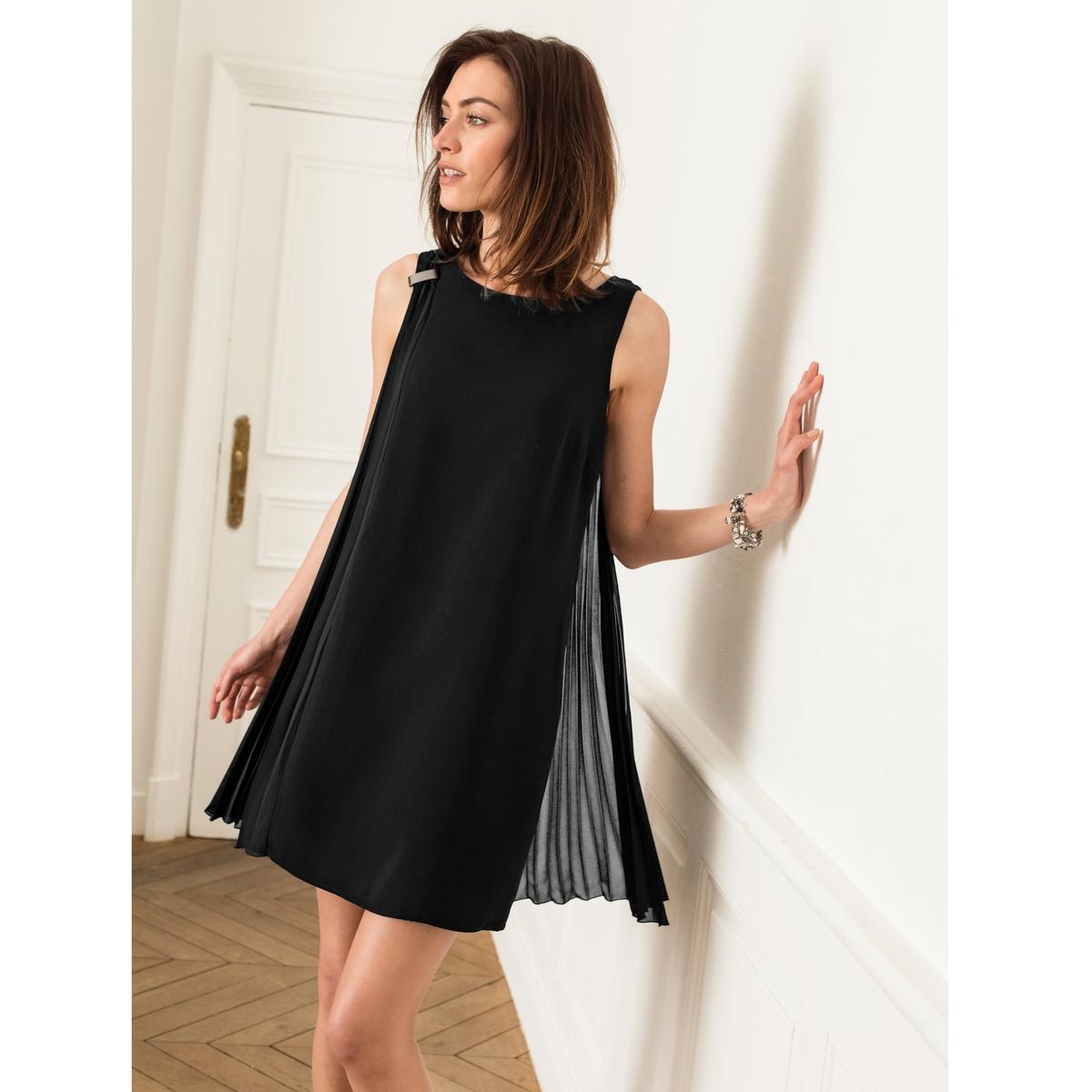 Imagen secundaria de producto de Vestido plisado sin mangas - Anne weyburn