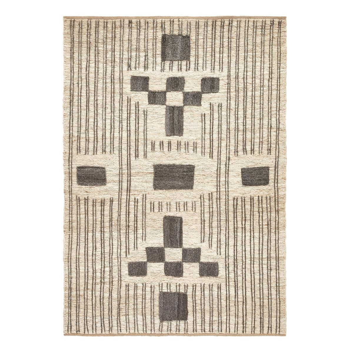 Ковер La Redoute Из джута Yenta 120 x 180 см бежевый ковер la redoute горизонтального плетения с рисунком цементная плитка iswik 120 x 170 см бежевый