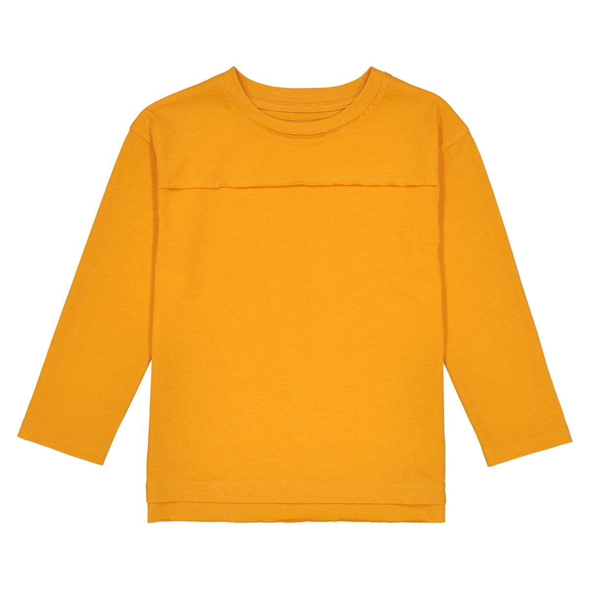 T-shirt oversize de mangas compridas, 3-12 anos