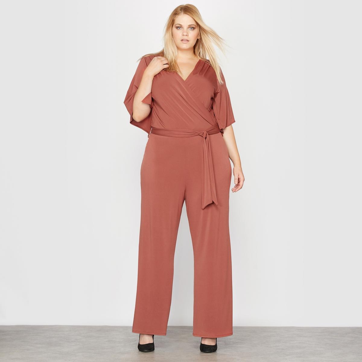 Комбинезон с брюками из струящегося трикотажа комбинезон с брюками alissa