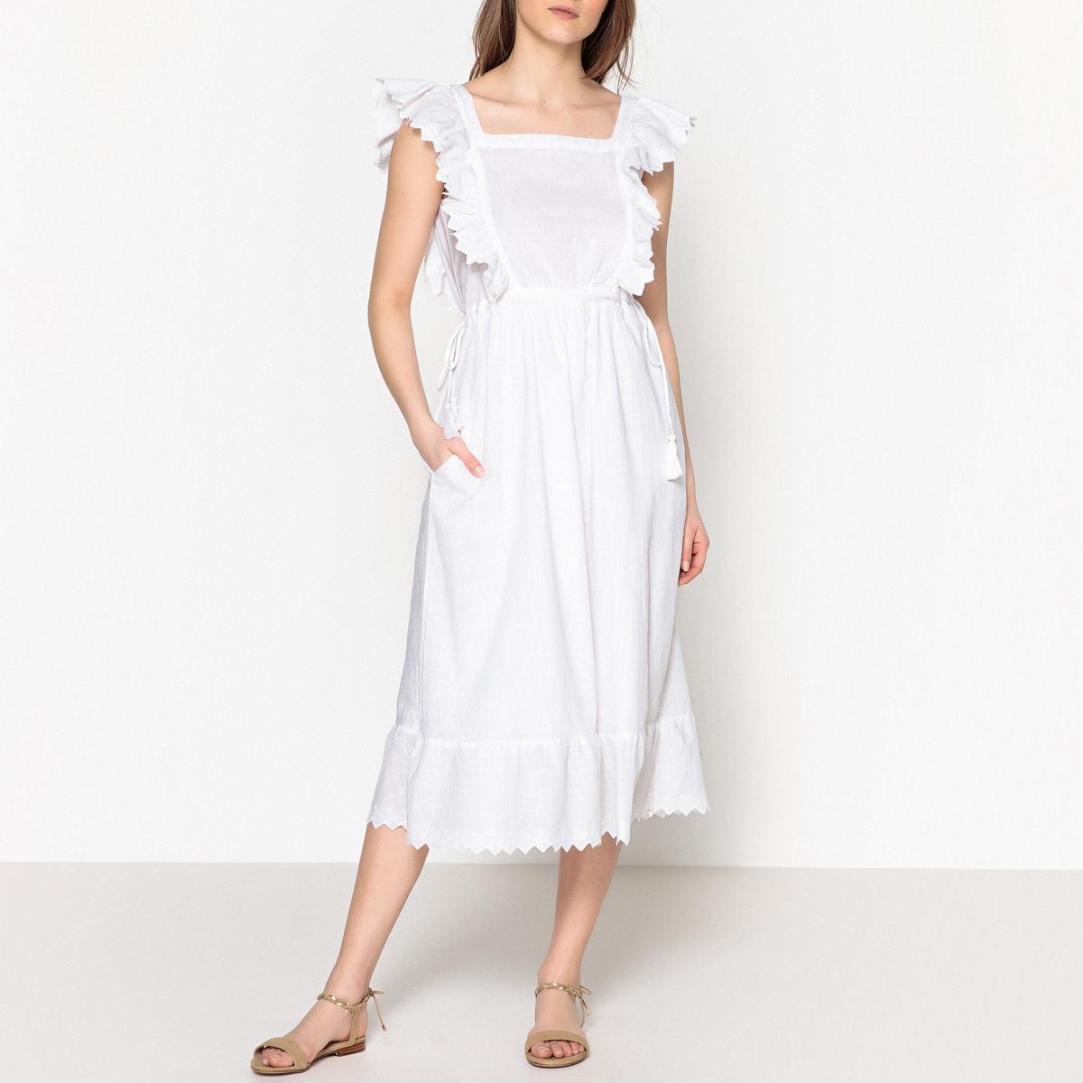 Платье летнее без рукавов с воланами ROYAL от LEON and HARPER
