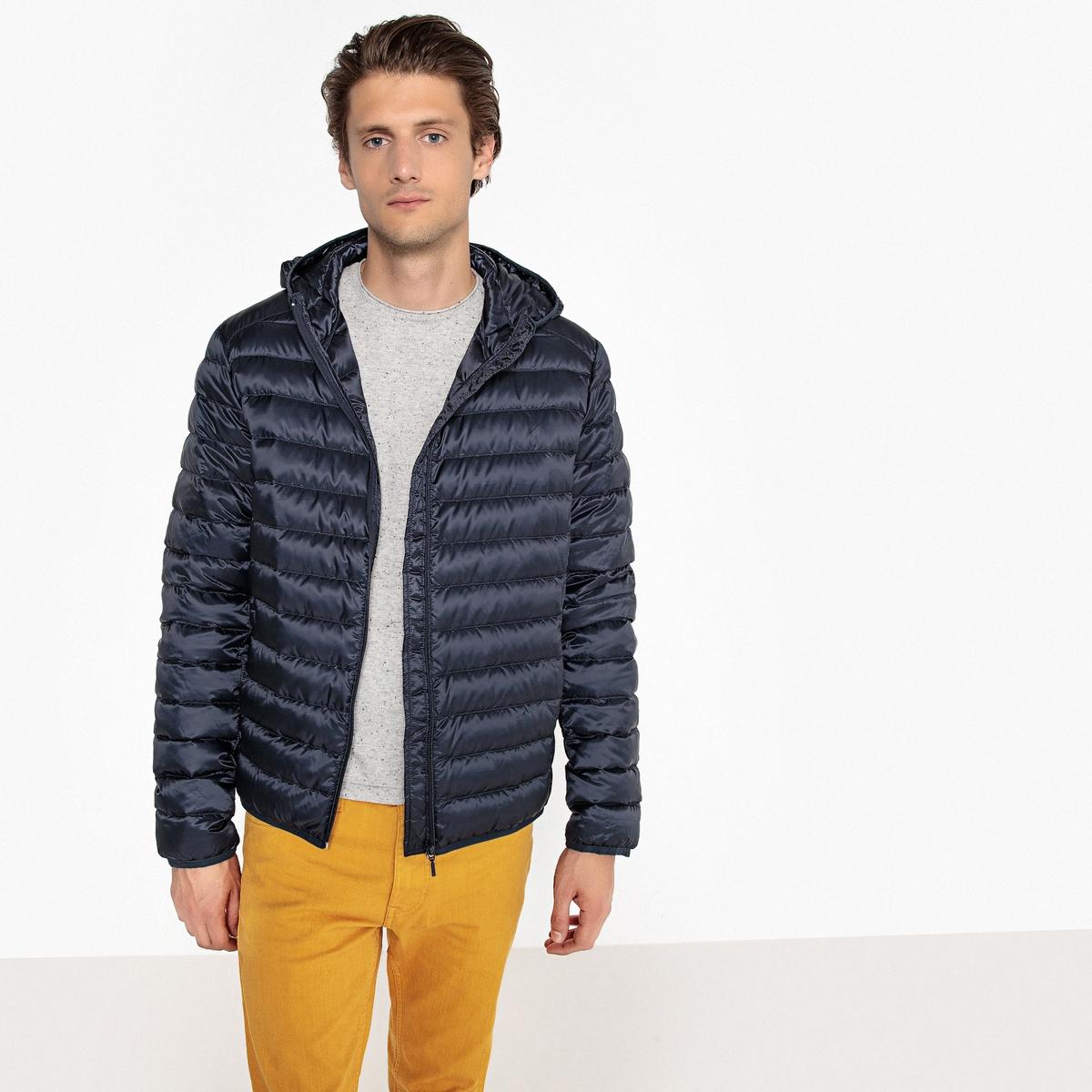 Куртка стеганая тонкая MILO с наполнителем из натурального пера