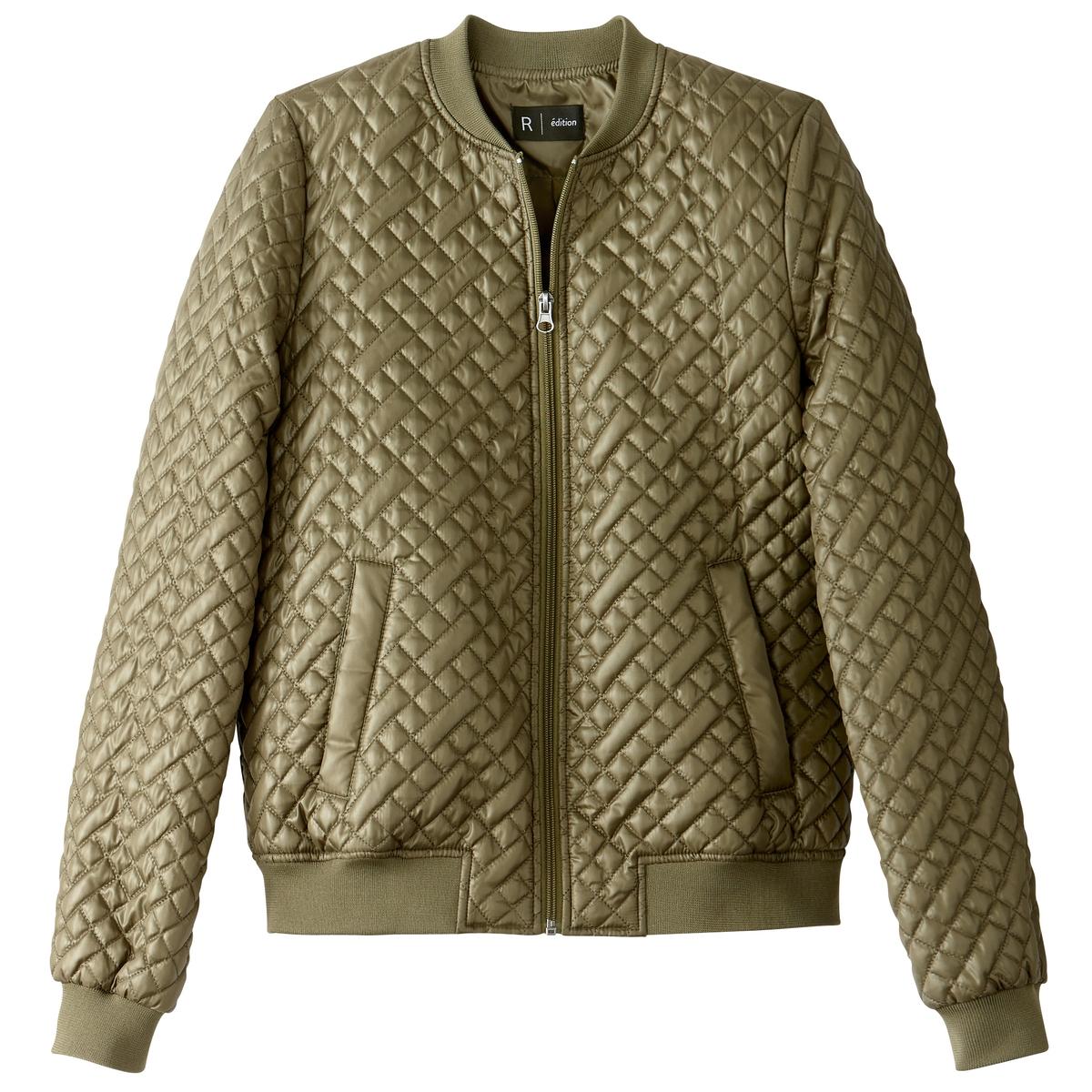 Куртка-бомбер стеганая