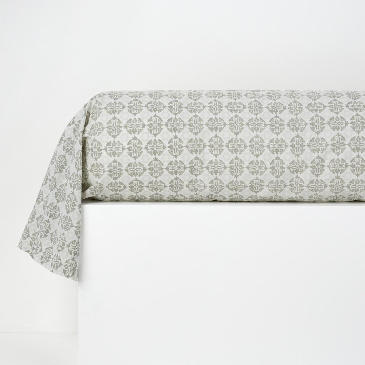 Наволочка на подушку-валик с принтом, TerringtonНаволочка на подушку-валик с принтом, Terrington . Постельное белье с принтом цементная плитка в аутентичном стиле . Характеристики наволочки на подушку-валик с принтом, Terrington  :Принт со сплошными мелкими мотивами с обеих сторон .100% хлопок : Плотное переплетение нитей, 57 нитей/см?, чем больше нитей/см?, тем выше качество материала.Машинная стирка при 60 °С.Знак Oeko-Tex® гарантирует, что товары протестированы и сертифицированы, не содержат вредных веществ, которые могли бы нанести вред здоровью.Найдите комплект постельного белья Terrington на сайте laredoute.ru<br><br>Цвет: серо-синий