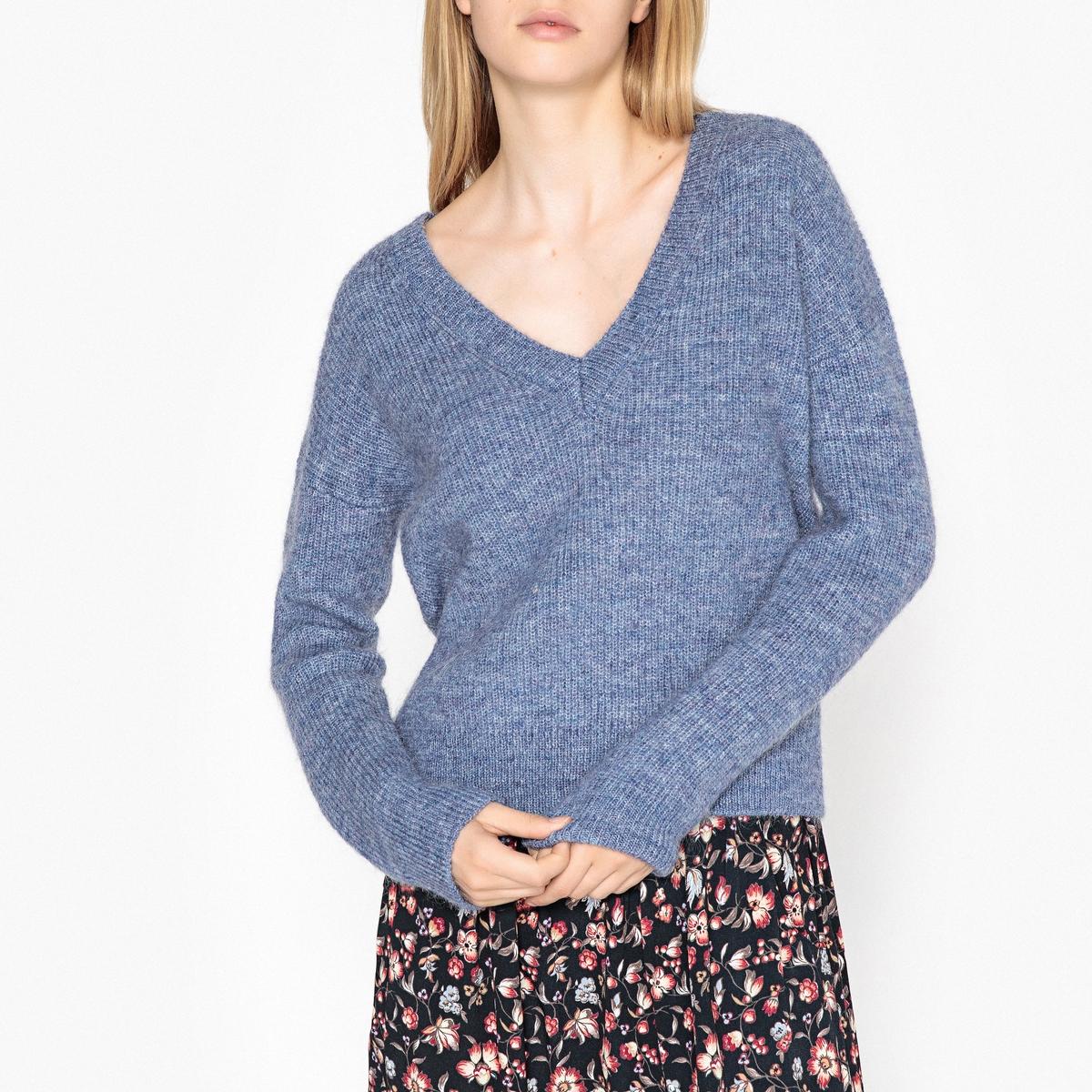 купить Пуловер с V-образным вырезом из тонкого трикотажа GAIANE по цене 11899 рублей