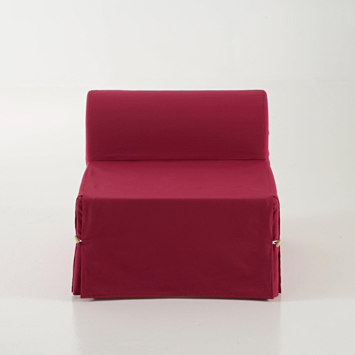 Кресло-банкетка-кровать Bultex, Dave MeetingНизкое сиденье-банкетка-кровать Bultex,  Dave Meeting . Стиль и комфорт . Обивка 100% хлопка придает ему натуральную простоту . Идеально для небольших пространств . Производство: Франция. Размеры кресла Dave Meeting Bultex :  Общие  :  Ширина : 70 см  Высота : 61 см  Глубина : 78 см  Сиденье :  Высота 36 см   В лежачем положении:  70 x 185 см .    Толщина : 18 см.. Обивка:100% хлопка (220г/м?). Съемный чехол. Уход : сухая чистка. Застежка на деревянные пуговицы.  Ультракомфорт Bultex :  Матрас с полиуретановым наполнителем  35кг/м? Bultex, толщина 18 см. Раскладывается в кровать.                                                 Найдите другие модели из коллекции Meeting на нашем сайте .    Доставка :  Ваше кресло-банкетка-кровать Dave Meeting будет доставлено до квартиры !  Внимание ! Убедитесь, что посылку возможно доставить на дом, учитывая ее габариты.    Размеры и вес ящика :  1 упаковка  108 x 28 x 61 см, 5 кг<br><br>Цвет: антрацит,бирюзовый,красный,серо-коричневый,серый,сливовый,фуксия