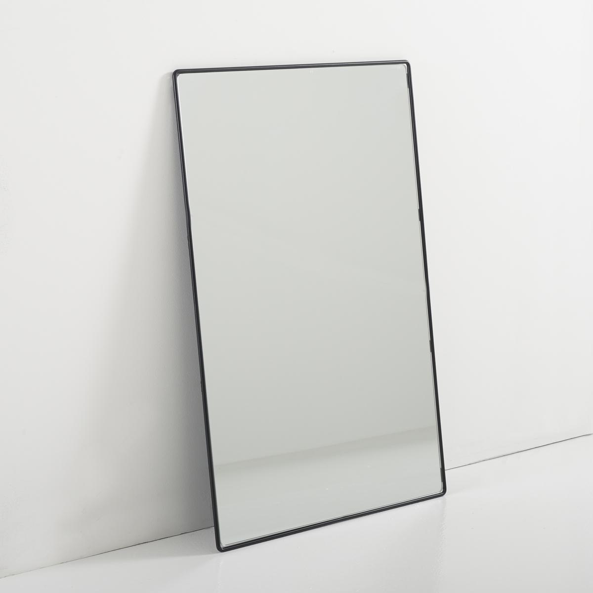 Зеркало BertilieЗеркало будет завершающим штрихом для блестящей отделки Вашего декора!Описание зеркала Bertilie:Зеркало прямоугольной формы.Характеристики зеркала Bertilie:Каркас из проволочного металла, отделка эпоксидной краской черного или белого цвета.Другие оригинальные предметы декора - на laredoute.ru.Размеры зеркала Bertilie:Ш.60 x В.90 x Г.1,6 см, 8,32 кг.Размер и вес с упаковкой:1 упаковка.Ш.67,5 x В.100 x Г.7 см, 10,22 кг.<br><br>Цвет: черный