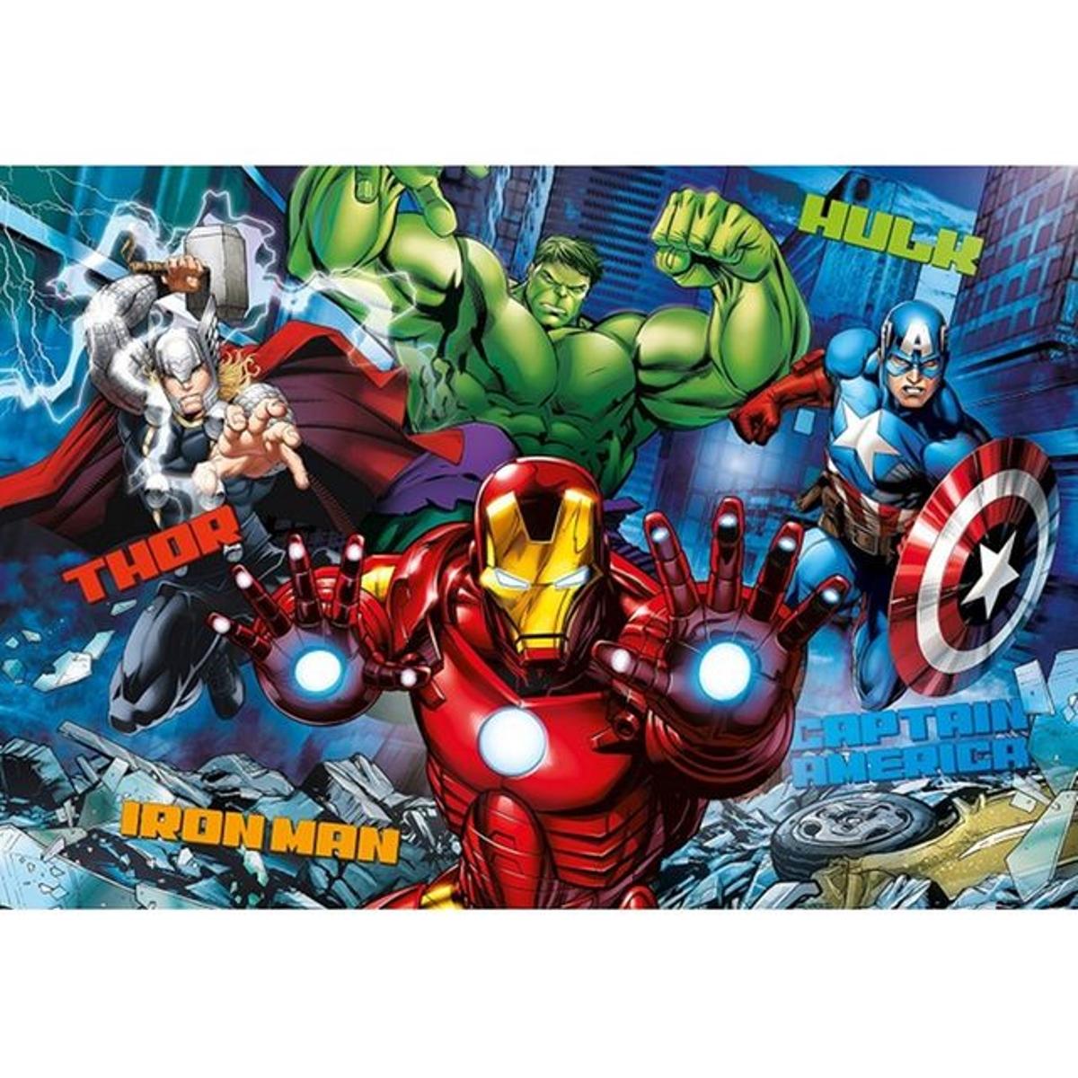Puzzle Effet 3D - Avengers