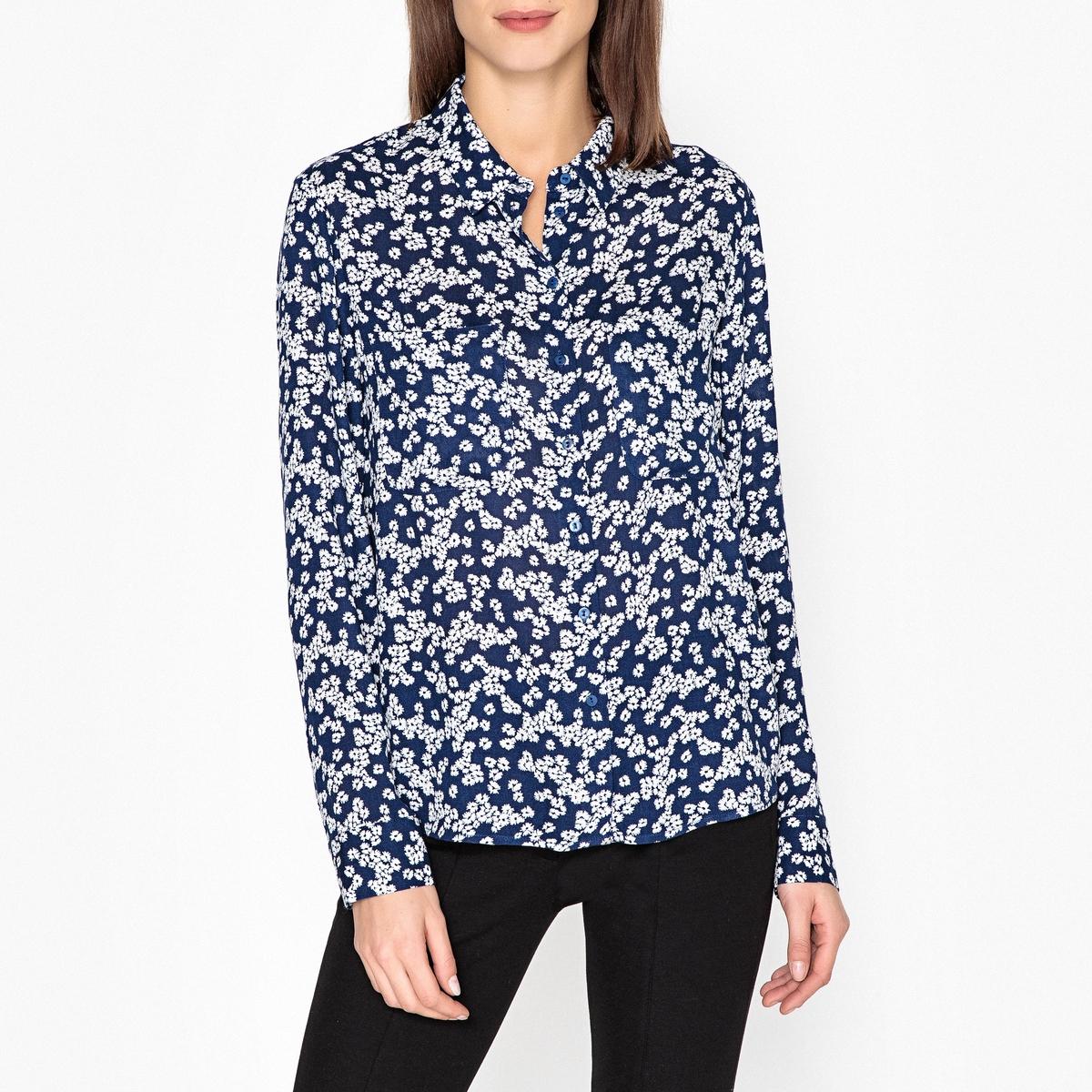Рубашка с рисунком, длинные рукава женская рубашка european and american big c002617 2015