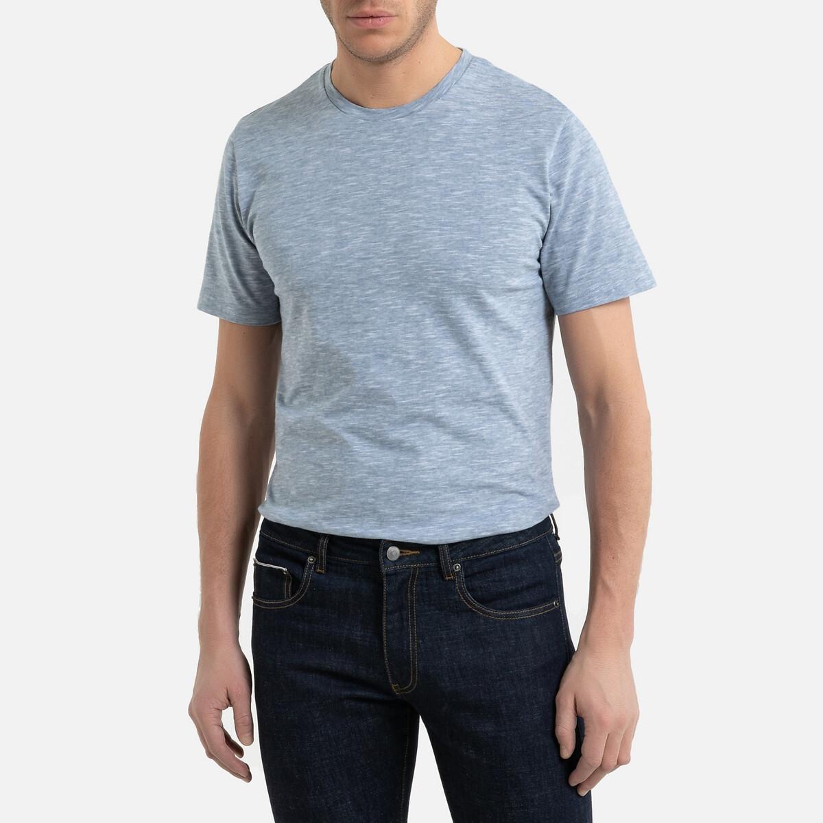 T-shirt rayé col rond manches courtes