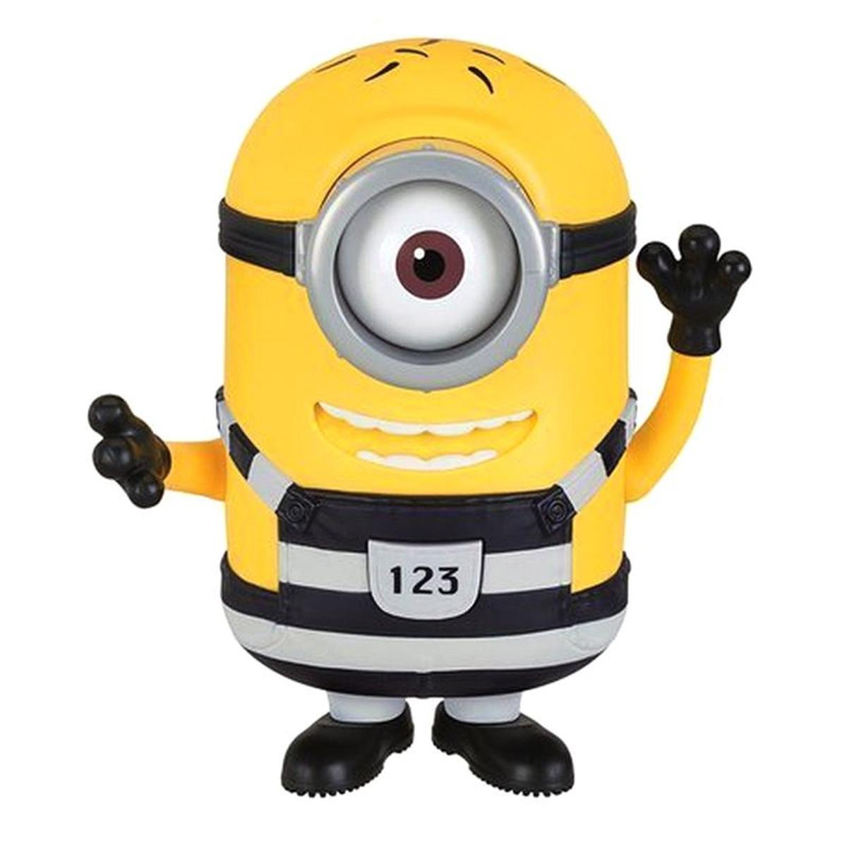 Figurine géante parlante Minions : Carl (à l'assortiment)