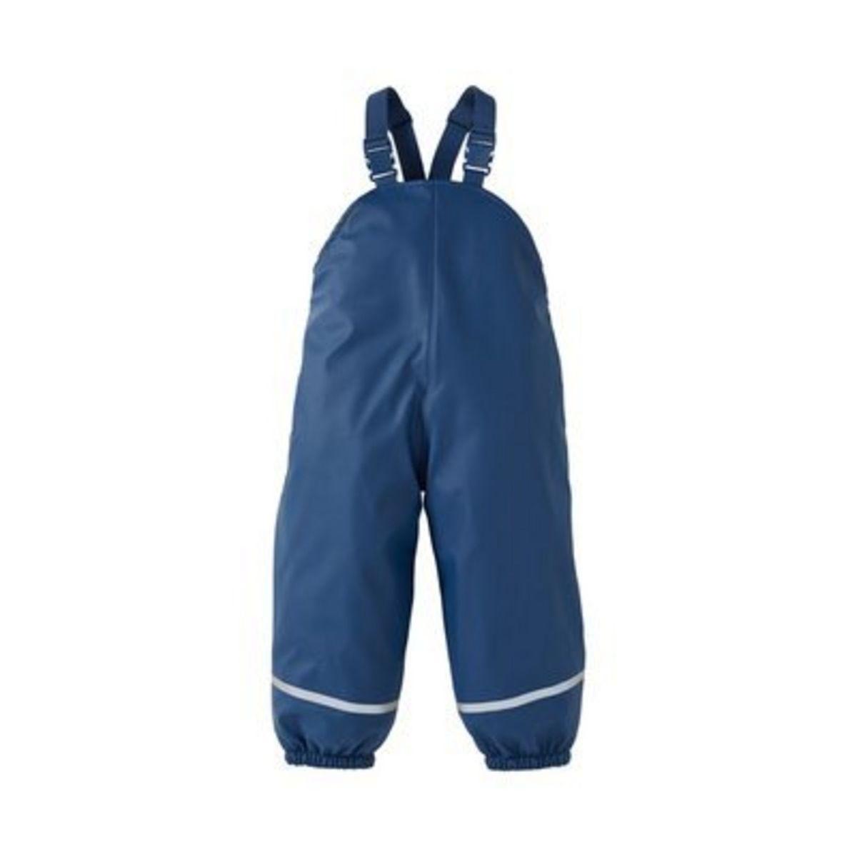 Bornino Salopette imperméable pantalon de pluie bébé tenue de pluie